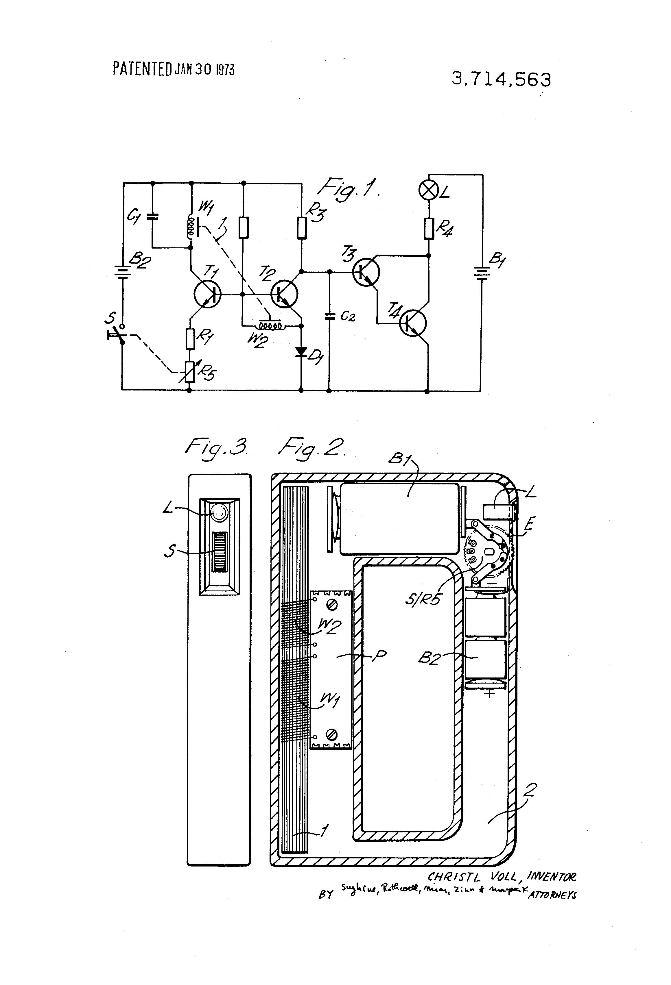 Metal Detector Circuit Transistor Using Brevet Us A Indicator In 2320x3408