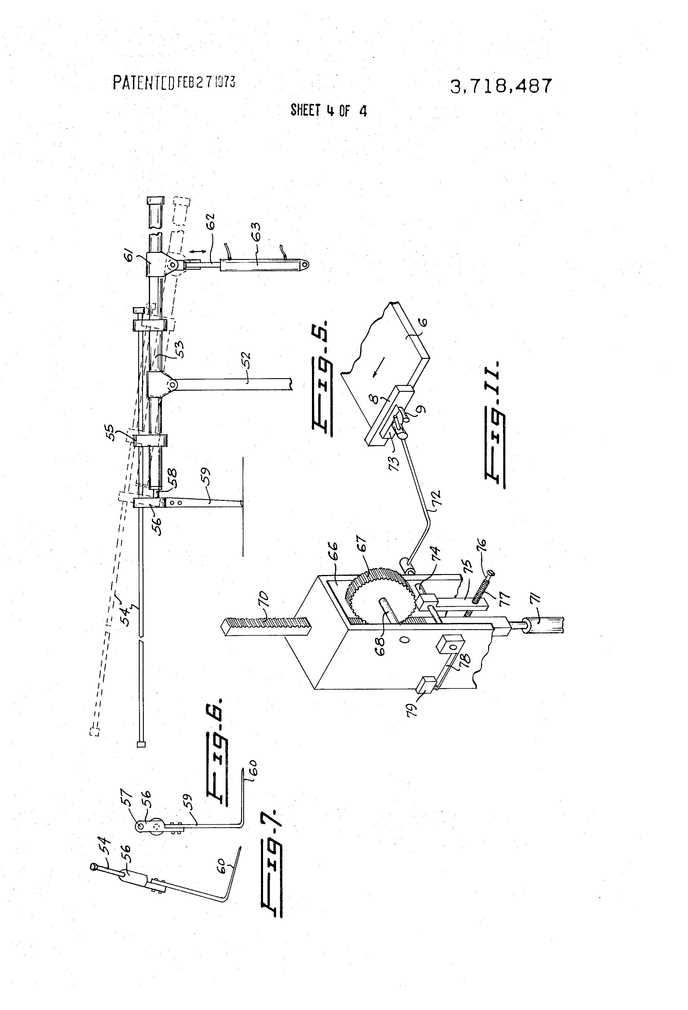 pancake drawing machine