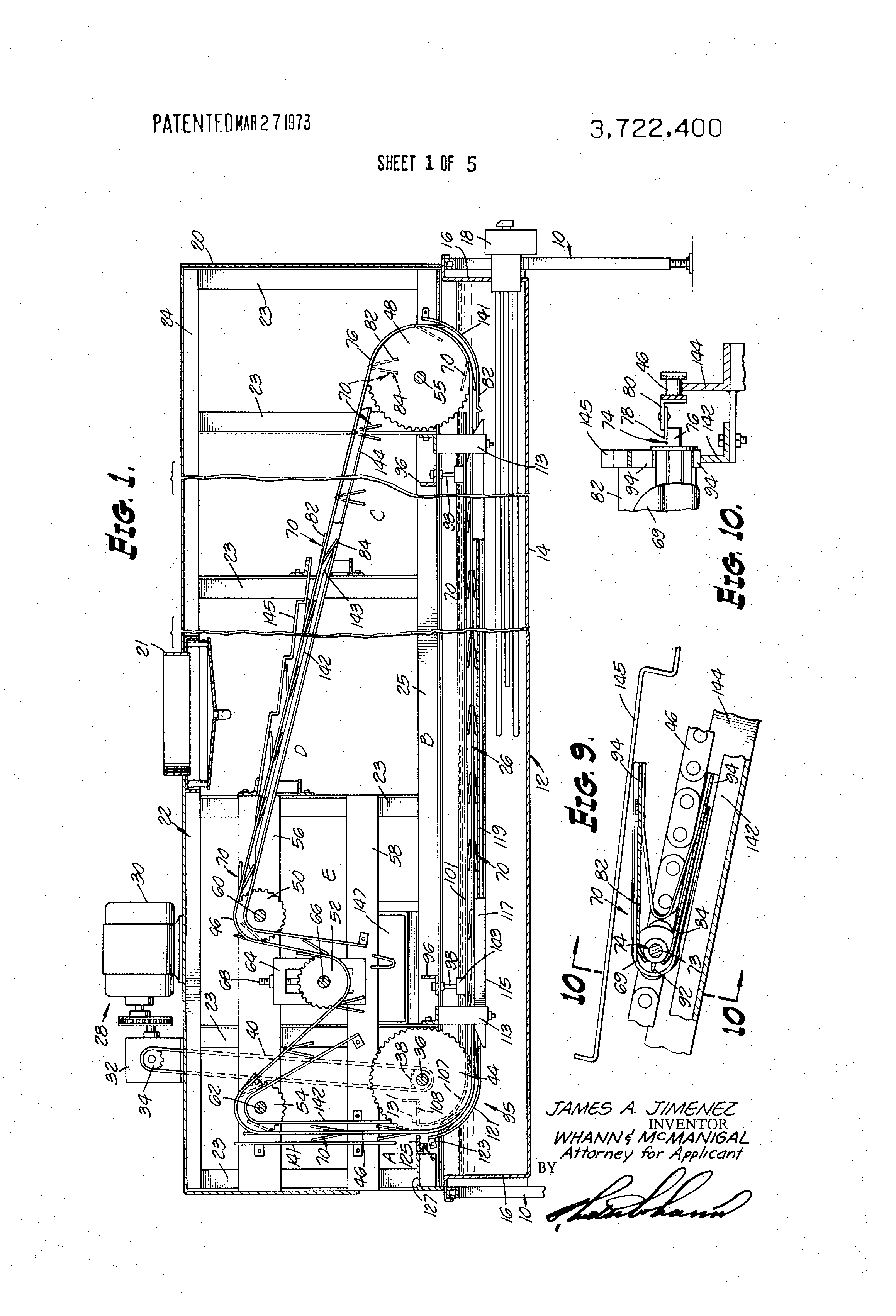 Patent Us3722400 Taco Shell Fryer Google Patents 111 Wiring Diagram Drawing