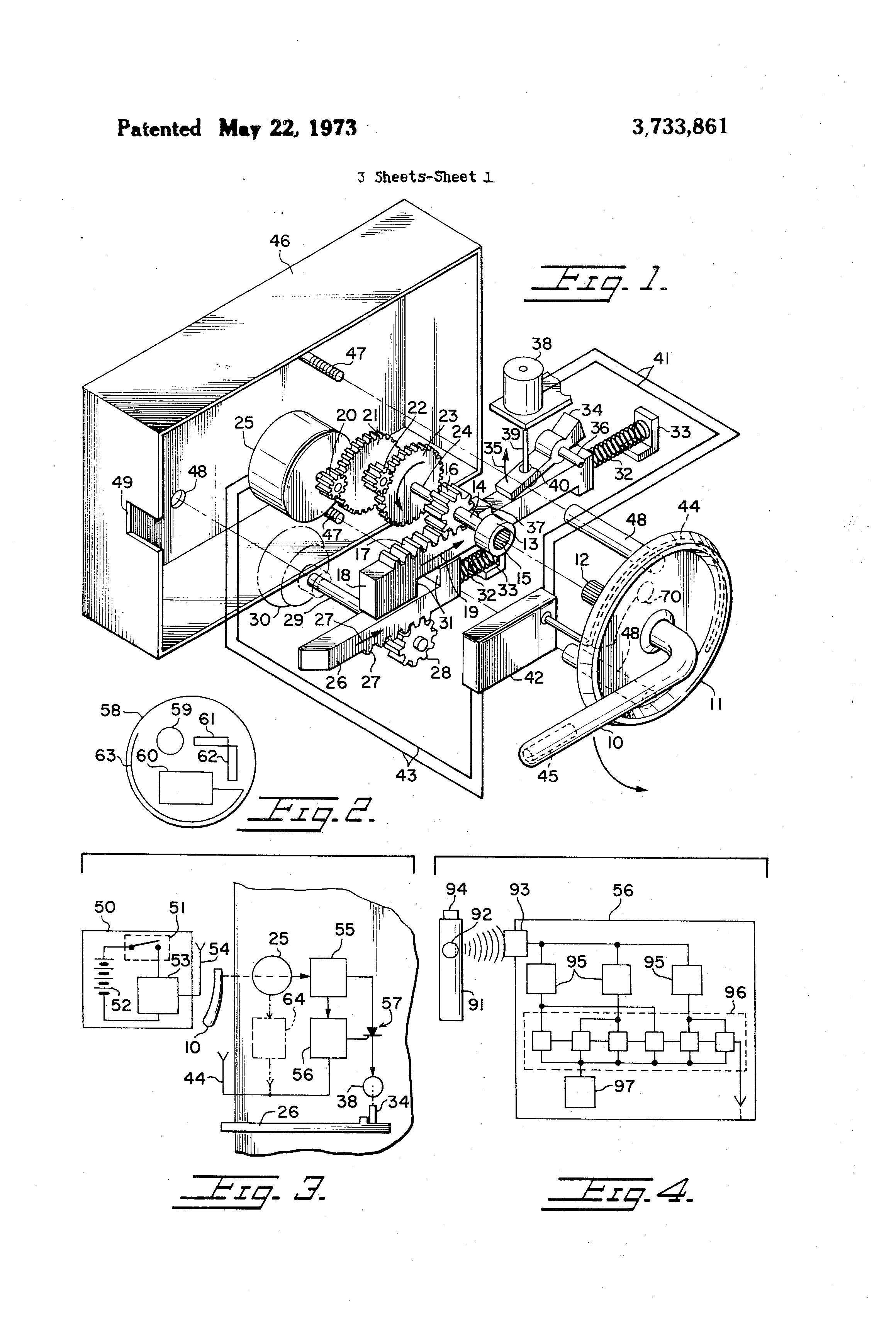 Schlage Maglock Wiring Diagram Thoughtexpansionnet Lincoln Welder Diagrams By Sargent Locks Patent Us3733861 Electronic Recognition Door Lock Google Patents 1 Us3733861eitxcrt5fpls7aiql7wrmeag