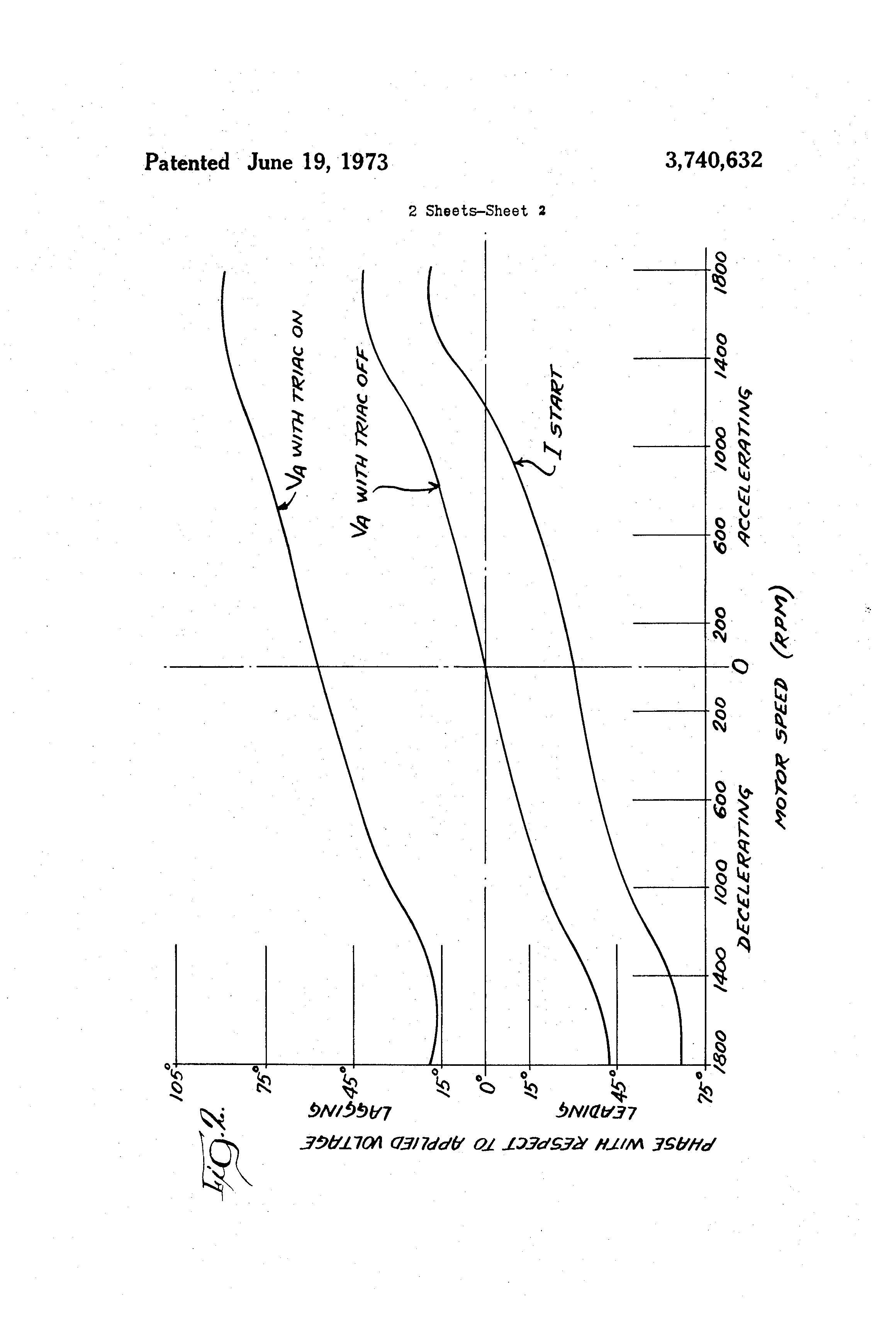 Patent Us3740632 Motor Reversing And Stopping Circuit Google Patents Ac Speed Picture Control Of Using Scr Moreover Drawing