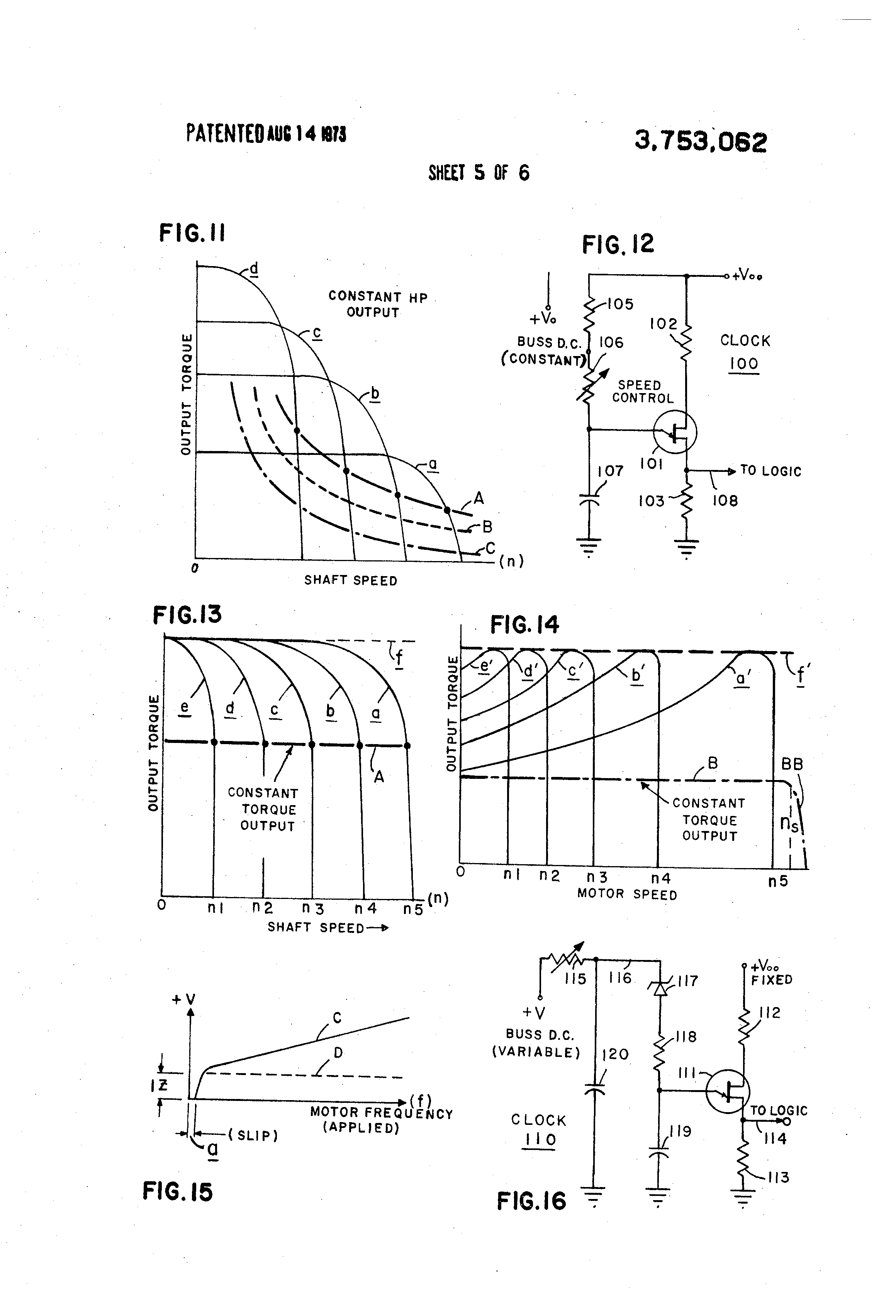 Patent Us3753062 Polyphase Motor System With Dc Rectifier Circuit Is That It Expands Easily Into A Version Drawing
