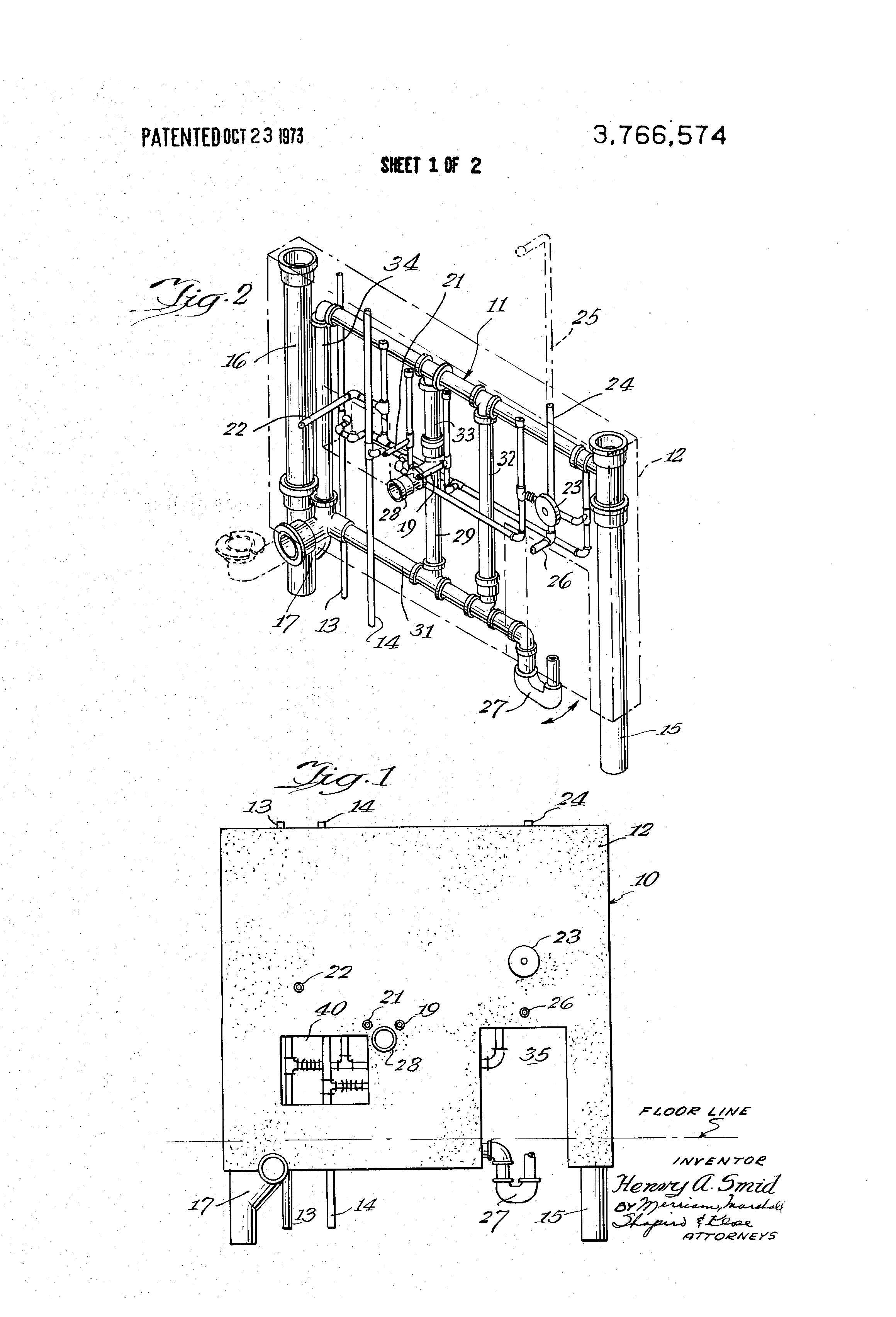 plumbing isometric drawing