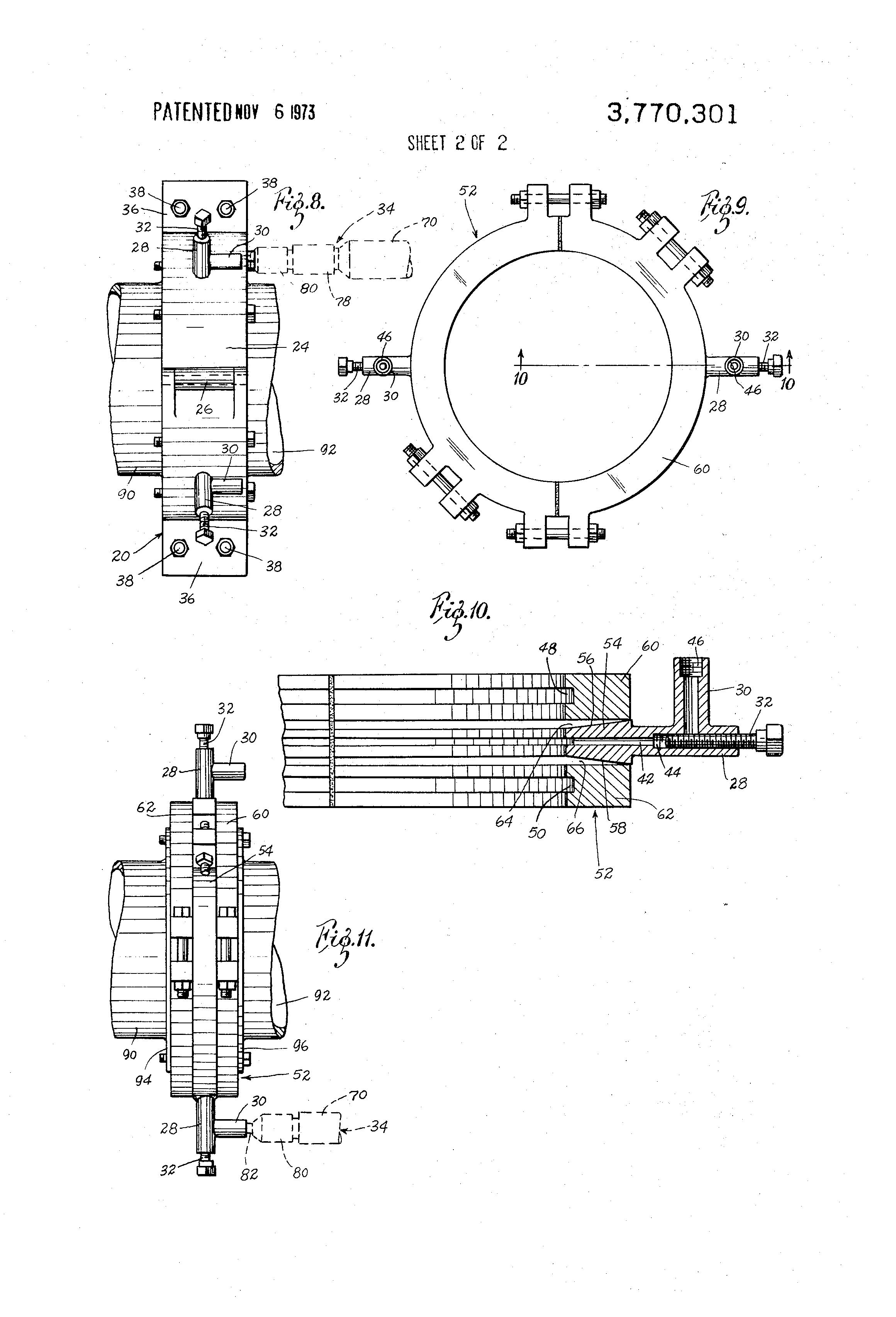 Patent us repair flange clamp google patents