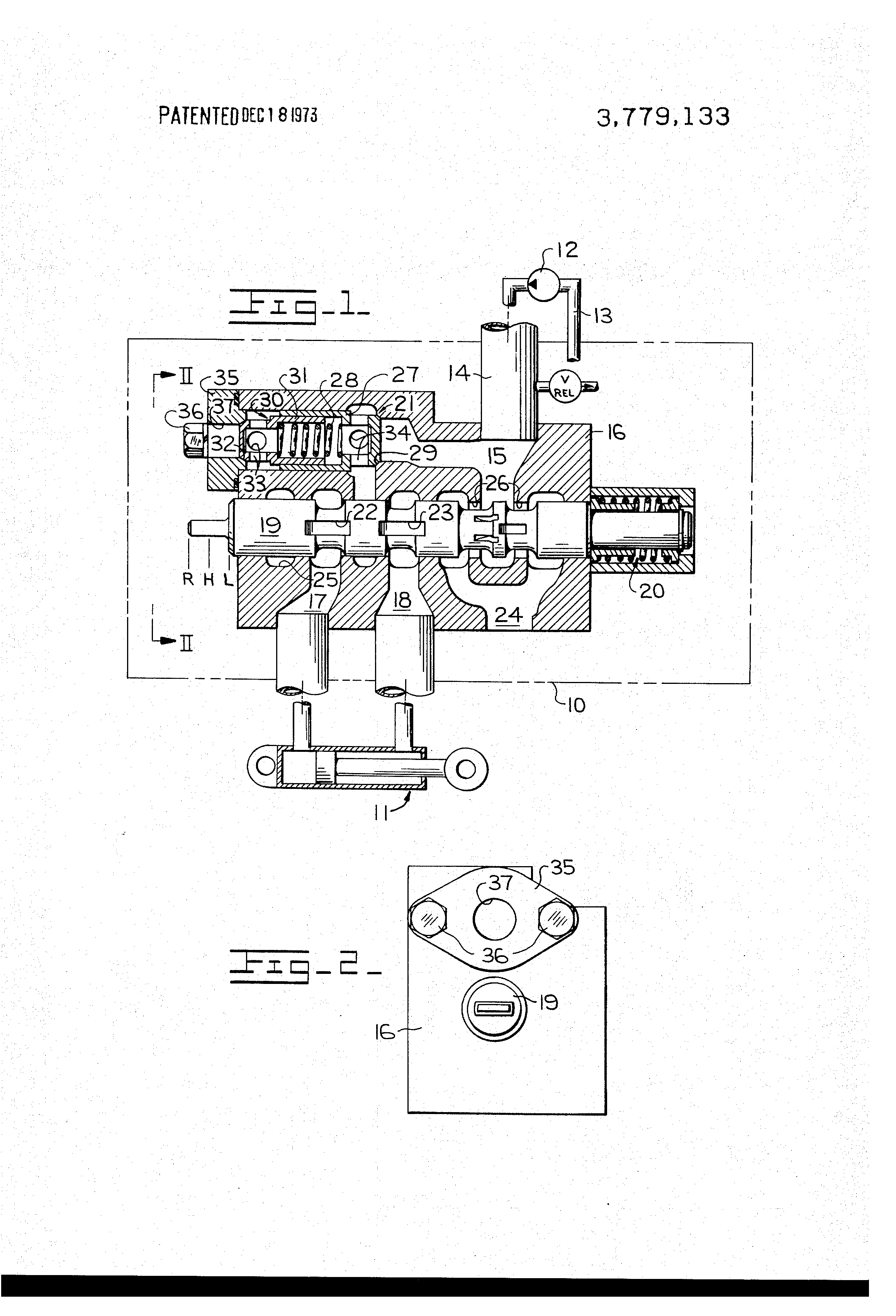 Hook up drawing of control valve