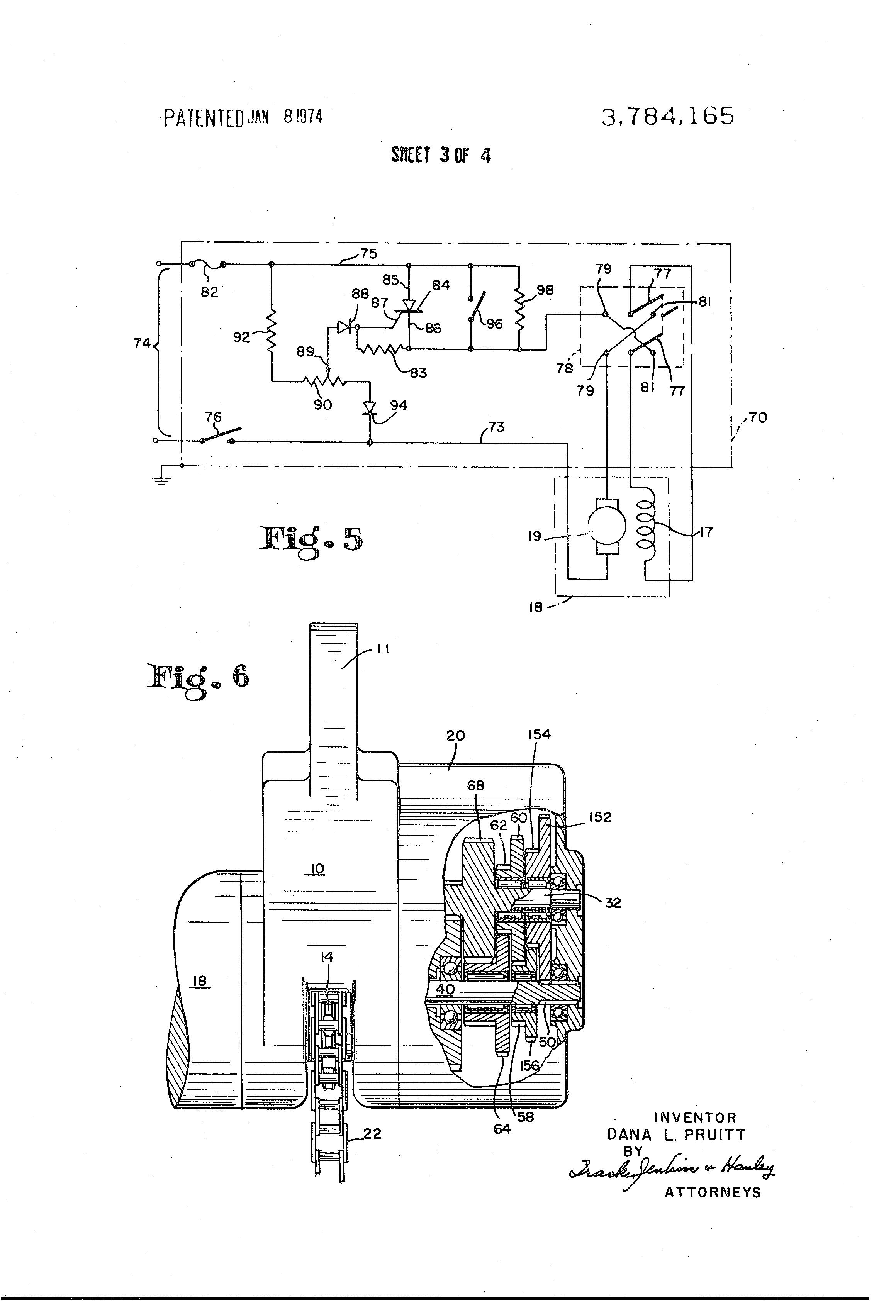 patente us3784165 - variable speed hoist