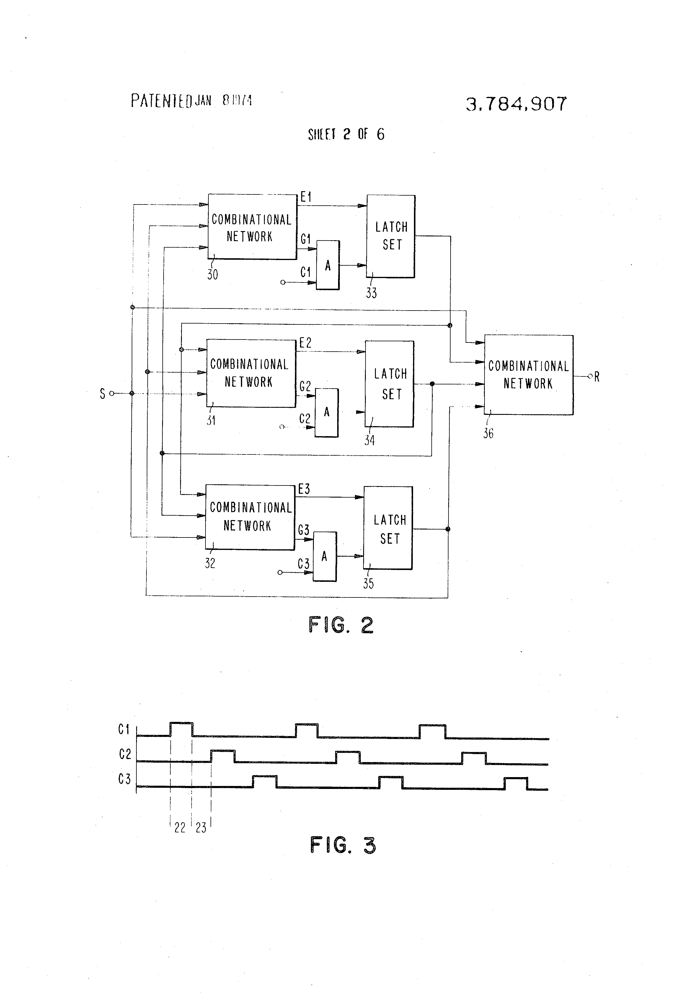 Patent Us3784907 Method Of Propagation Delay Testing A Functional Ht6 C Compressor Wiring Diagram Drawing