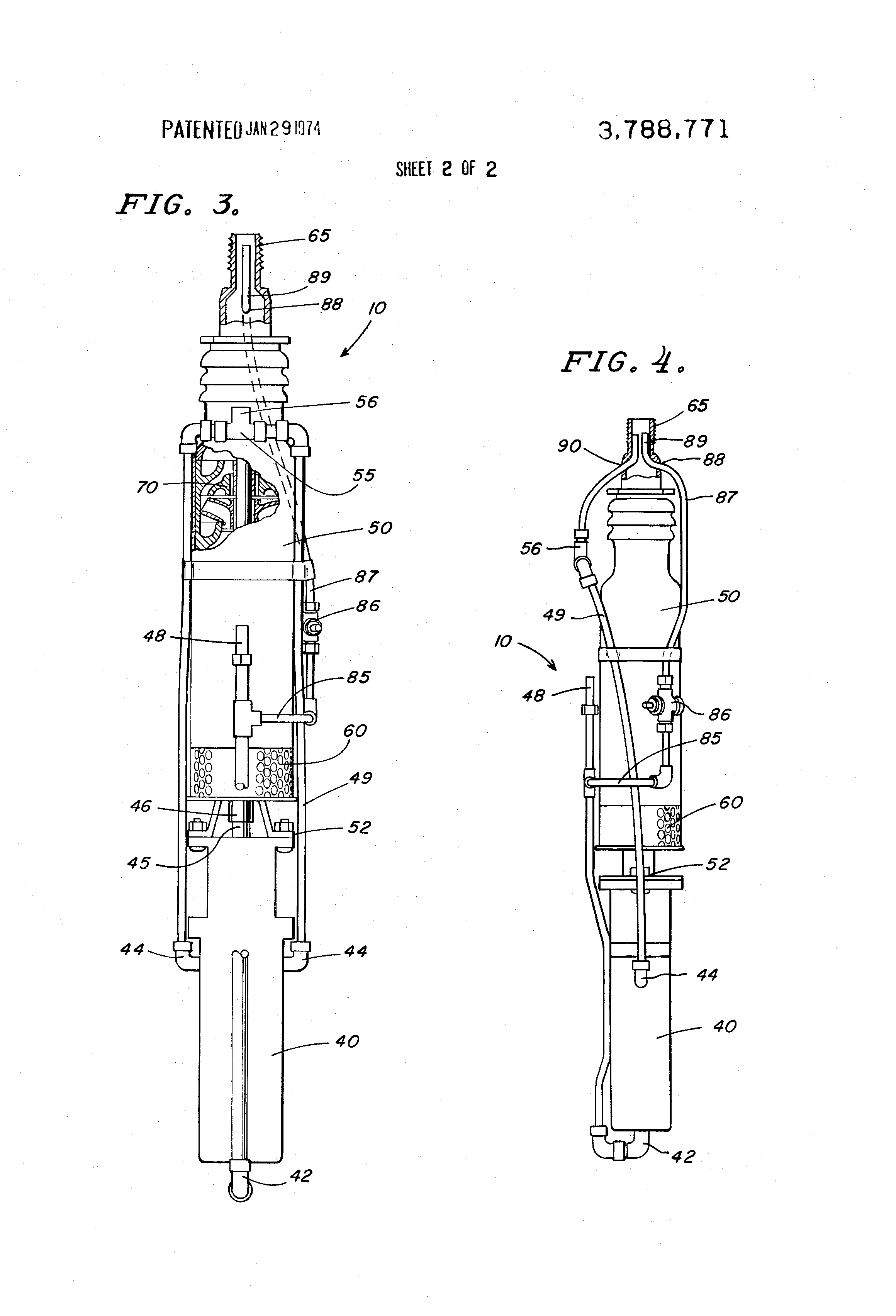 Brevet US3788771 - Submersible pump - Google Brevets