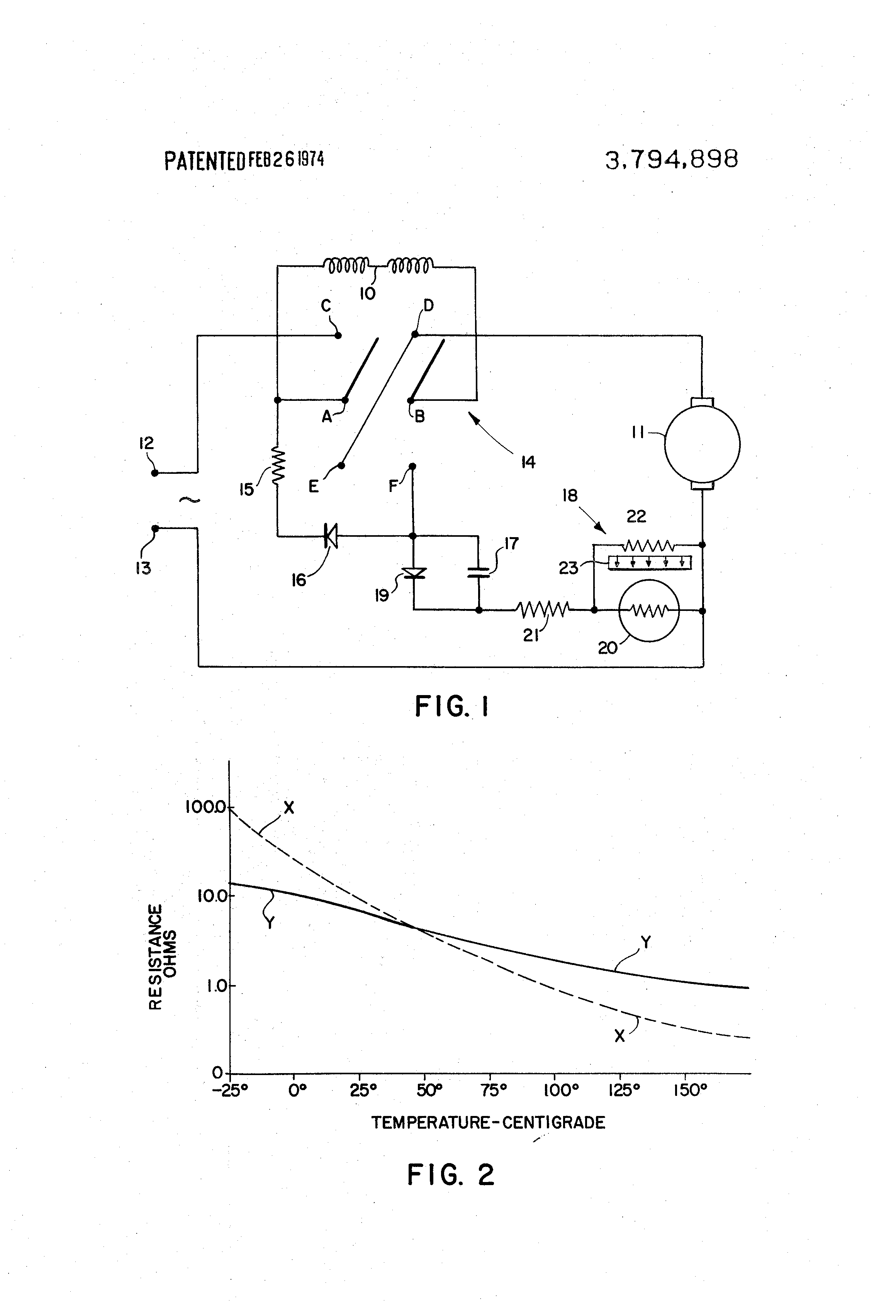 Patent us3794898 dynamic braking of electric motors with for Electrical braking of dc motor