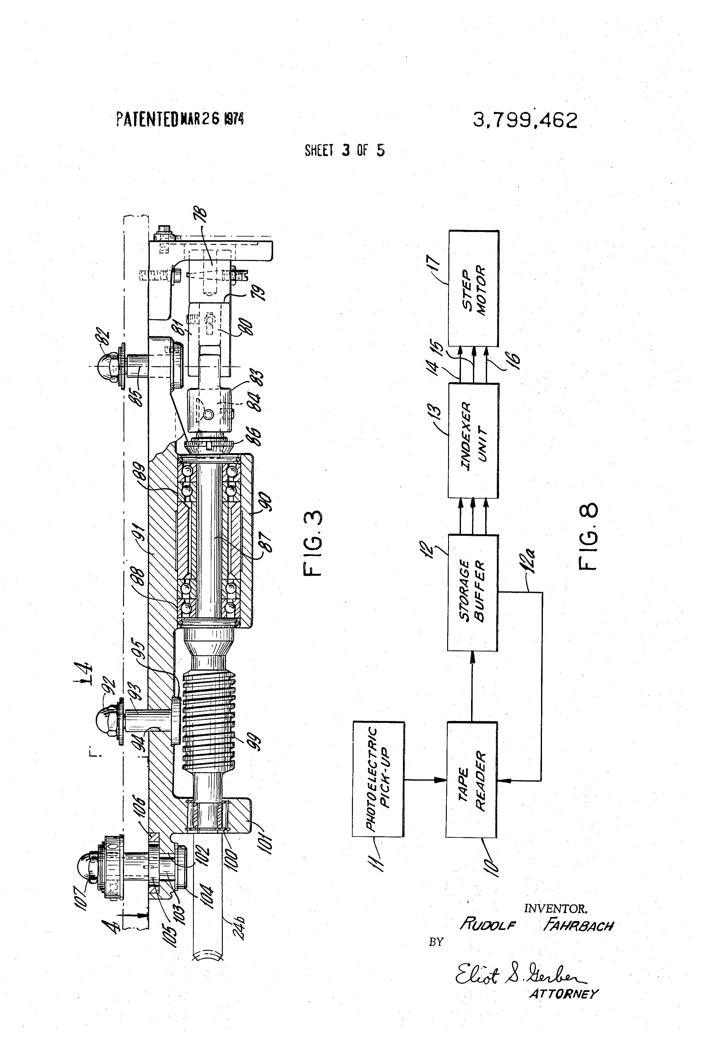 patent us3799462 - toroidal coil-winding machine