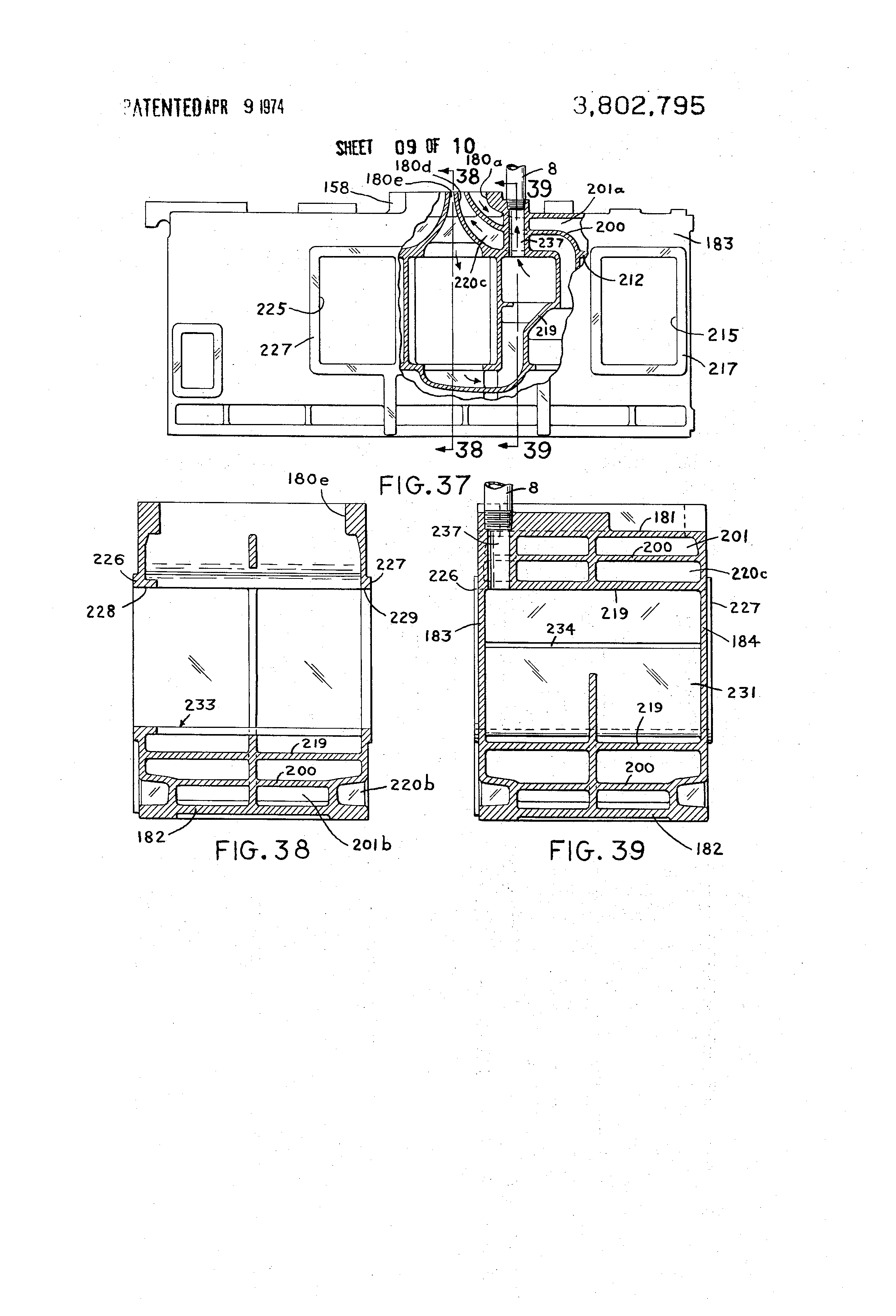 patent us3802795 - multi-stage centrifugal compressor