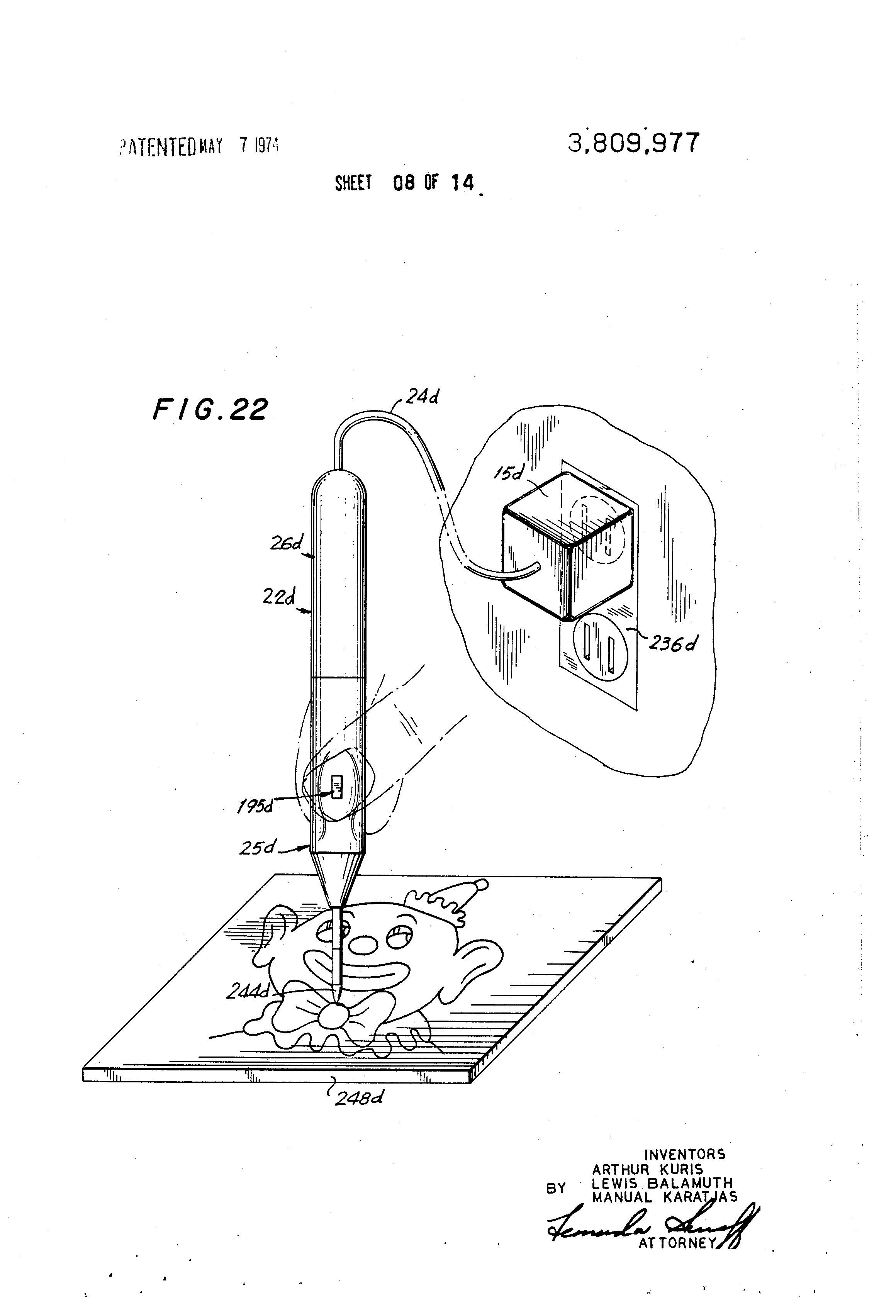 patent us3809977