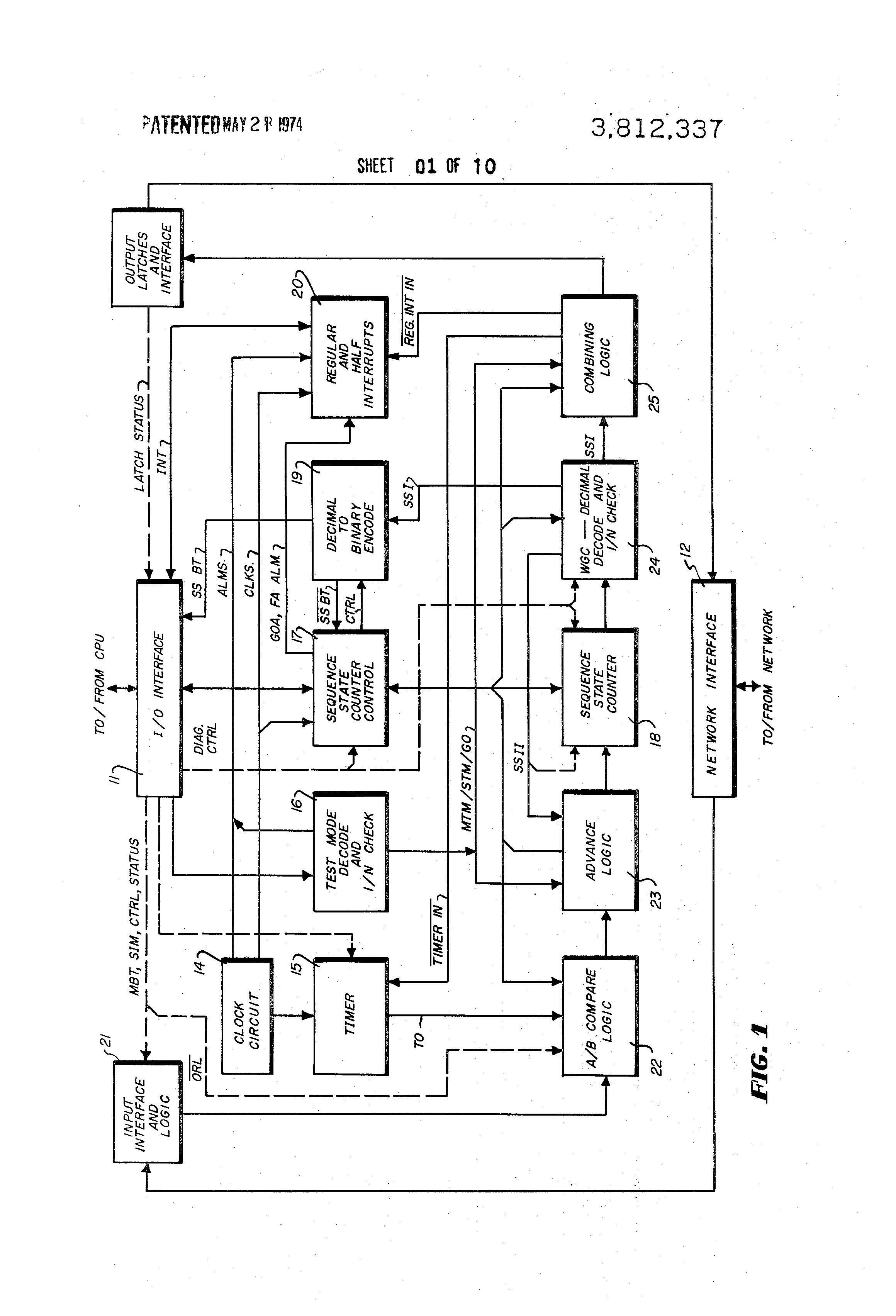 T Con Circuit Diagram Auto Electrical Wiring Brevetto Us3812337