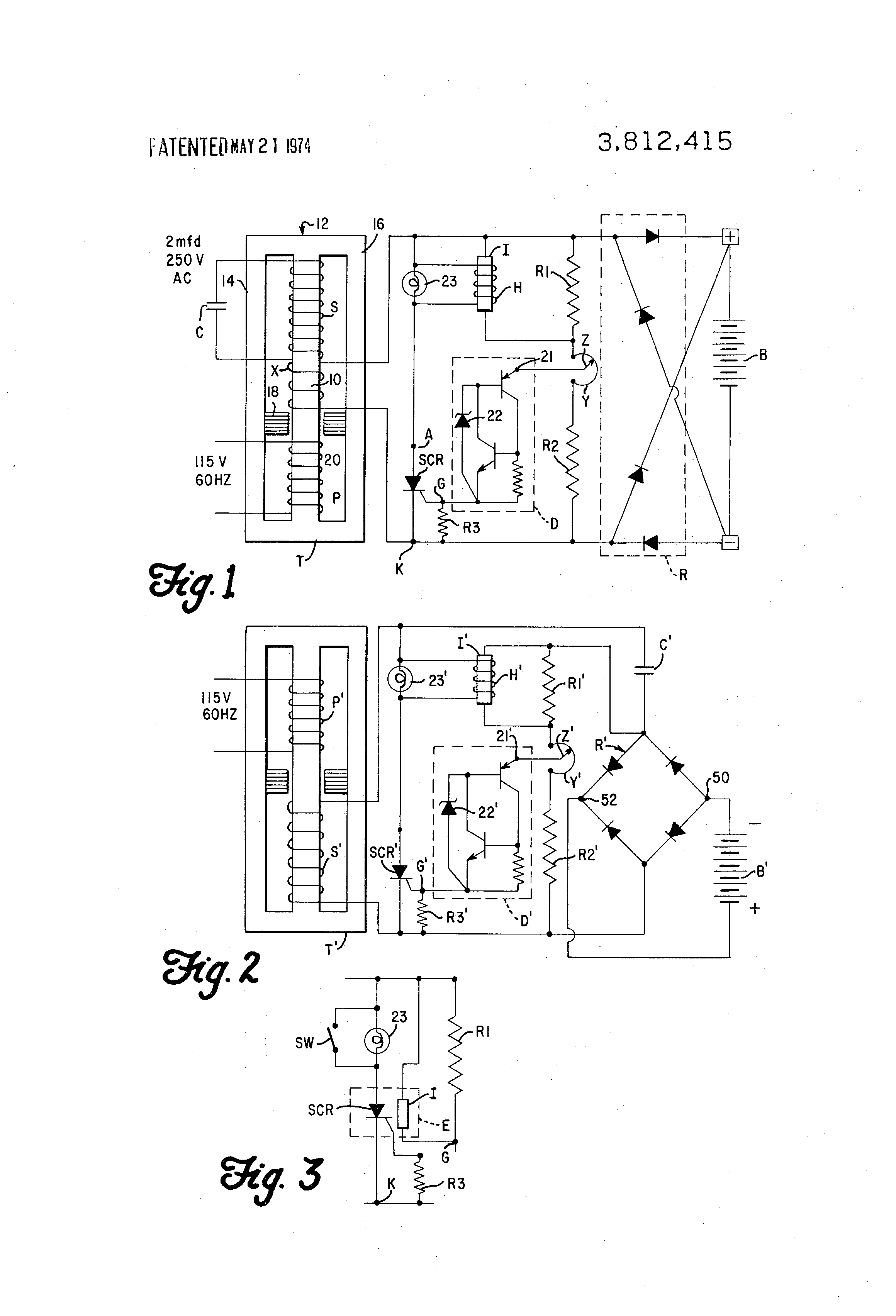 patent us3812415 ferroresonant battery charger circuit google rh google com