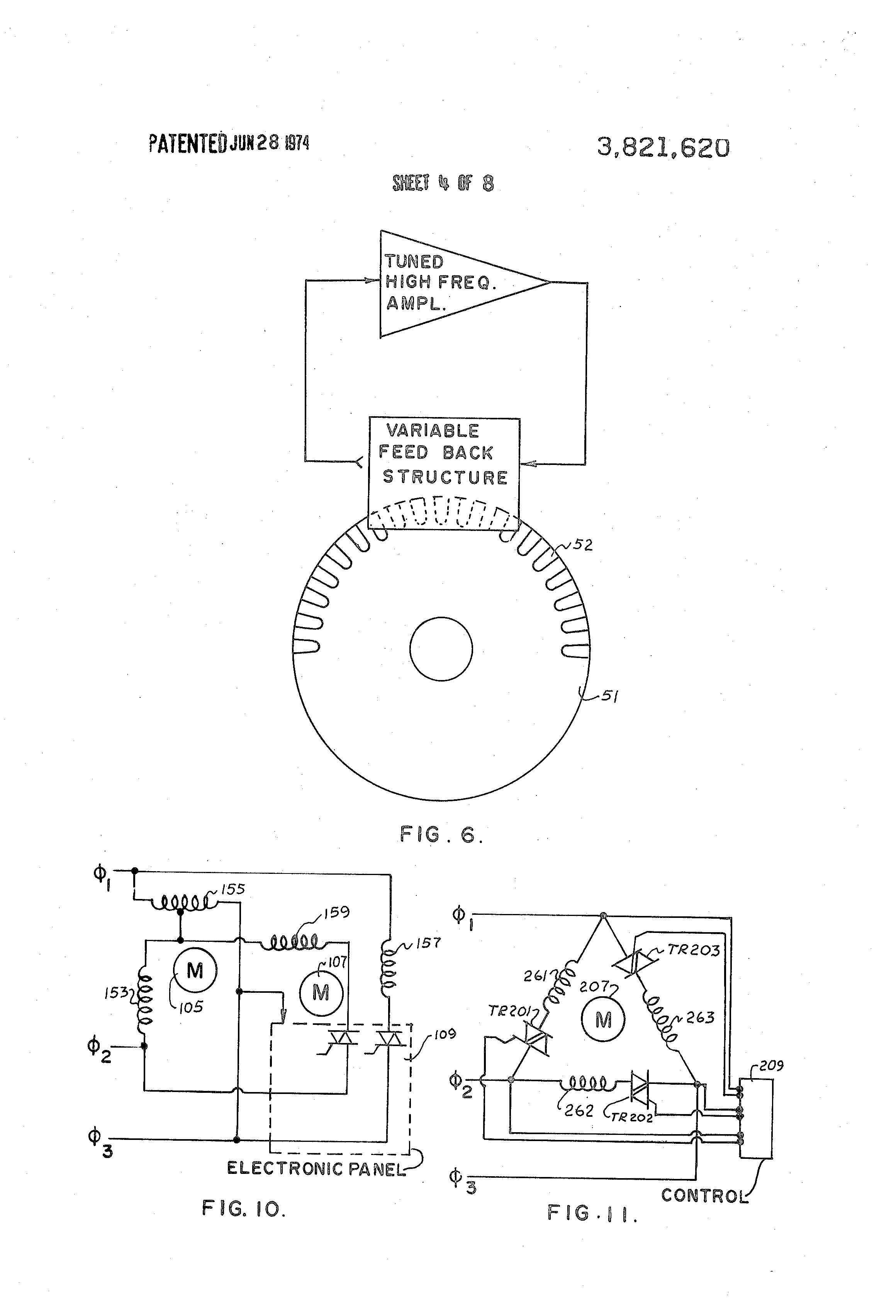 Patent Us3821620 Electric Induction Motor And Control
