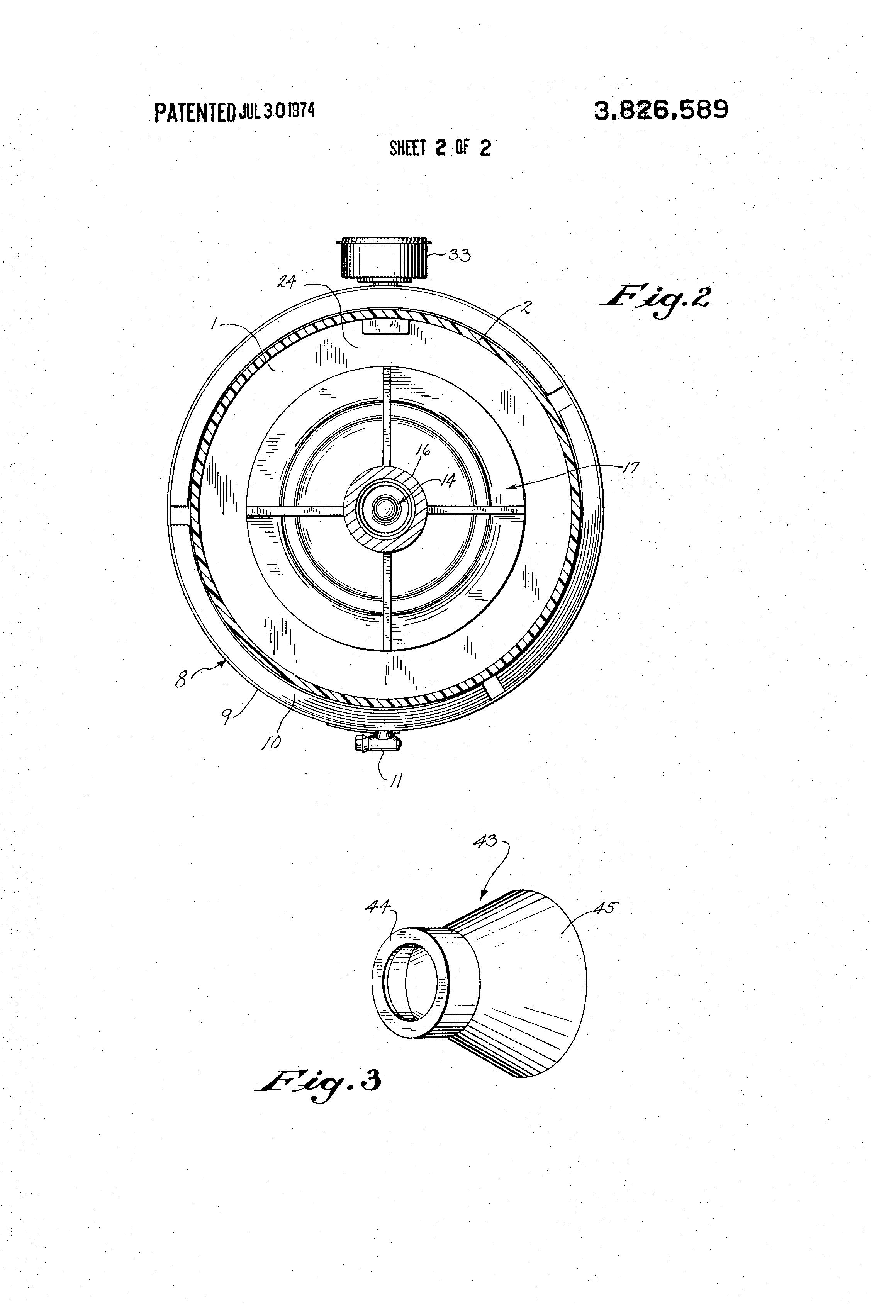 patent us3826589 - plastic pump construction