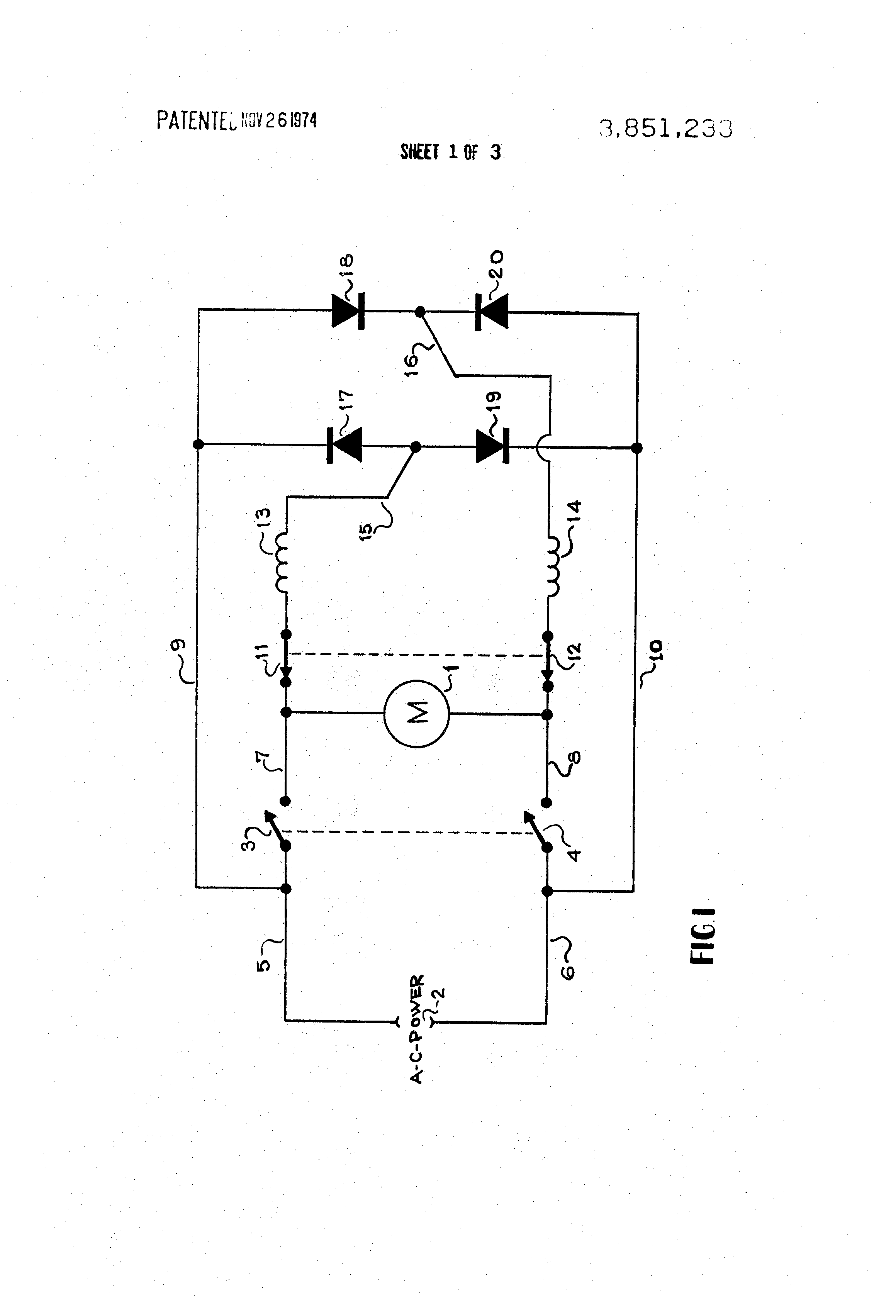 illustration example of dynamic brake circuit