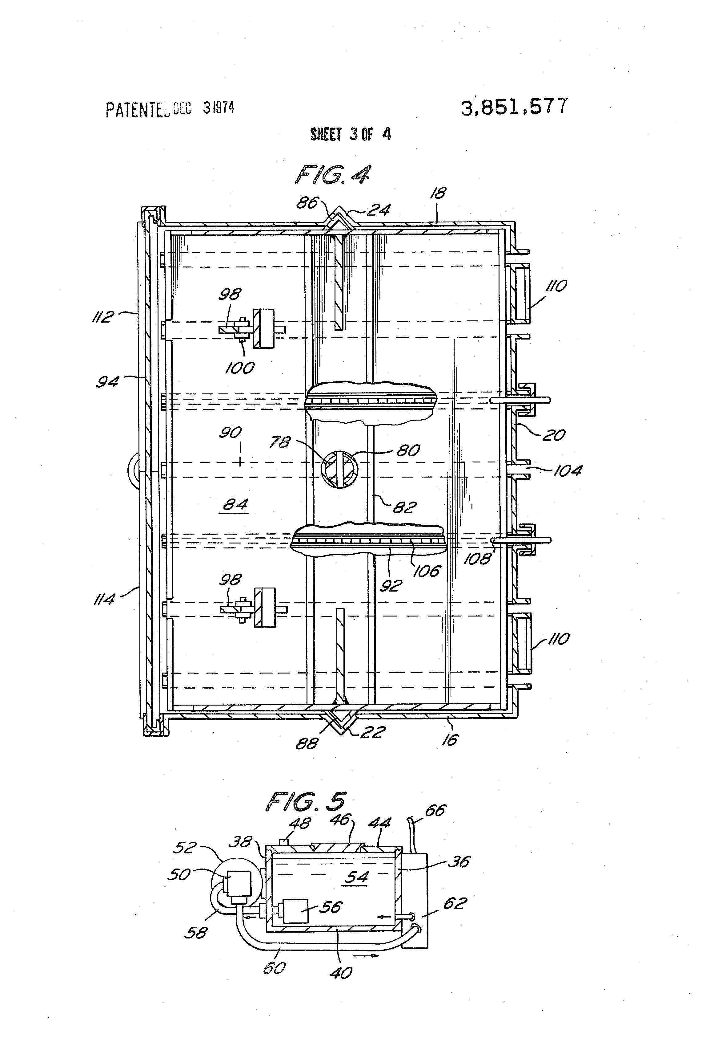 patent us3851577 - vertical baler