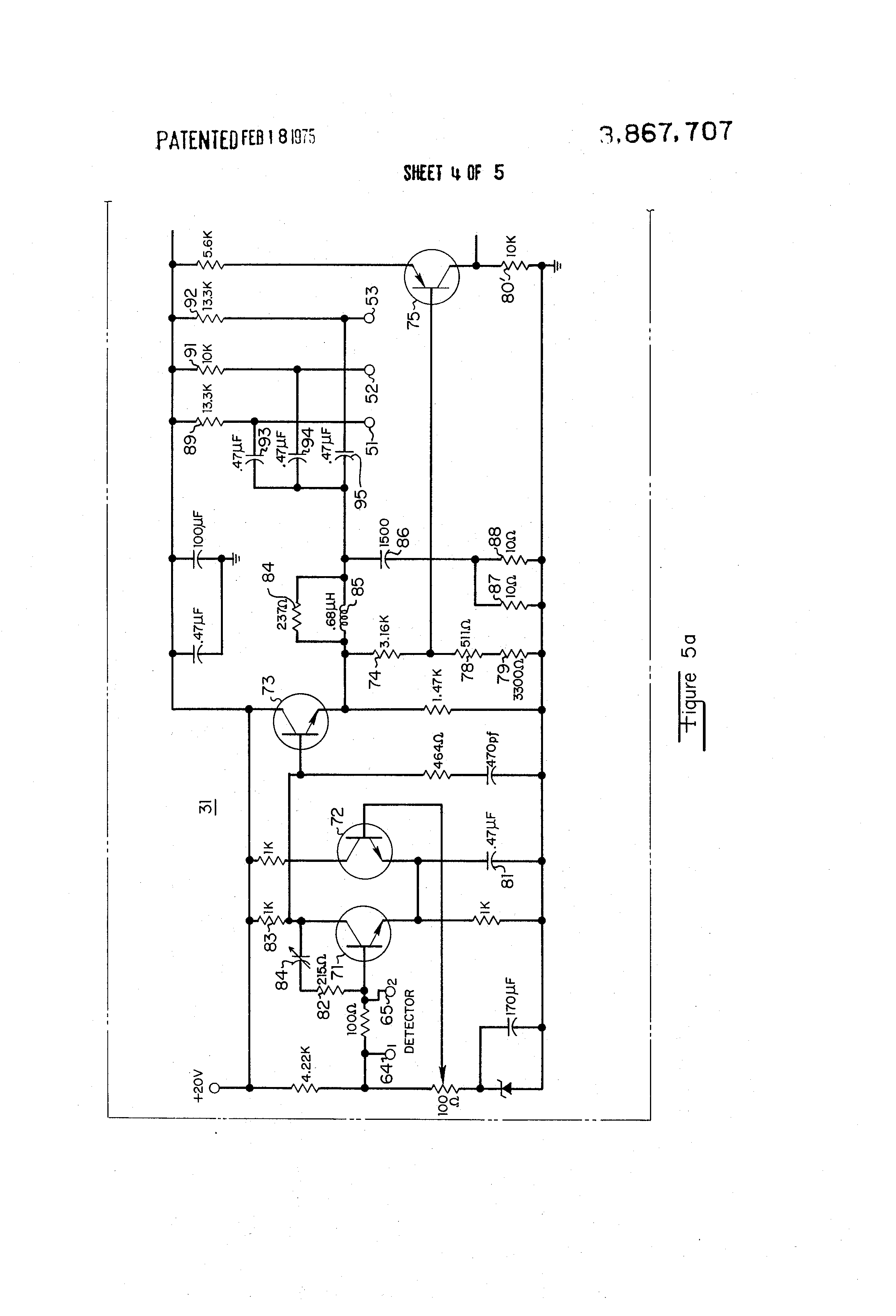 Brevet Us3867707 Controlled Signal Receiver Google Brevets Tuned Radio Frequency Trf Circuit Diagram Patent Drawing
