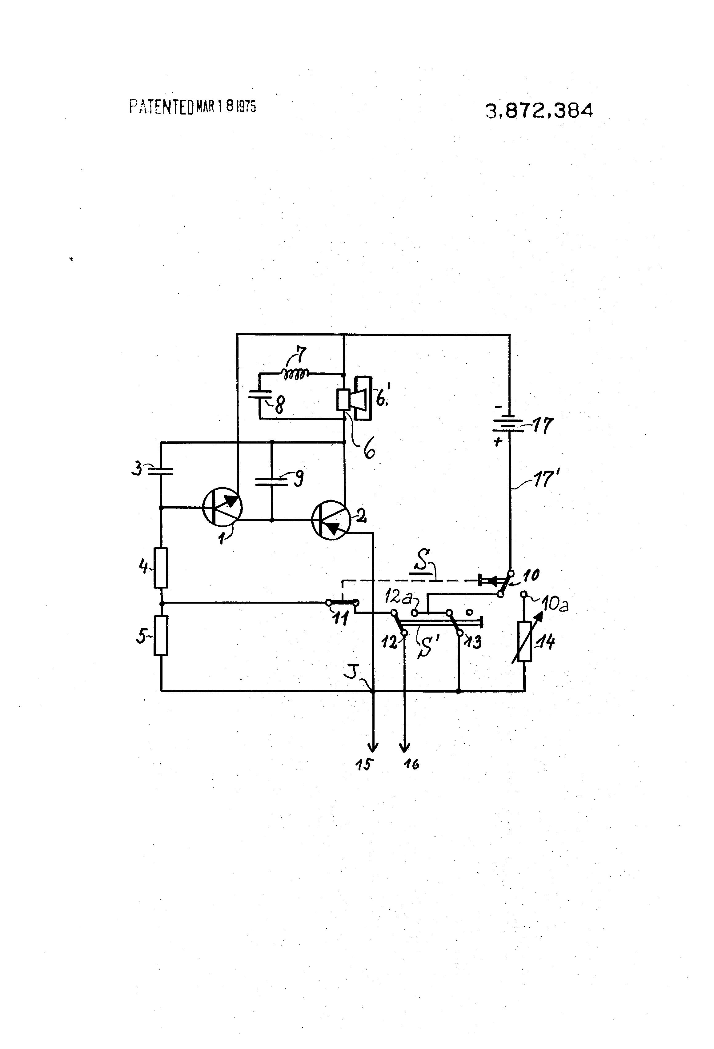 patent us3872384