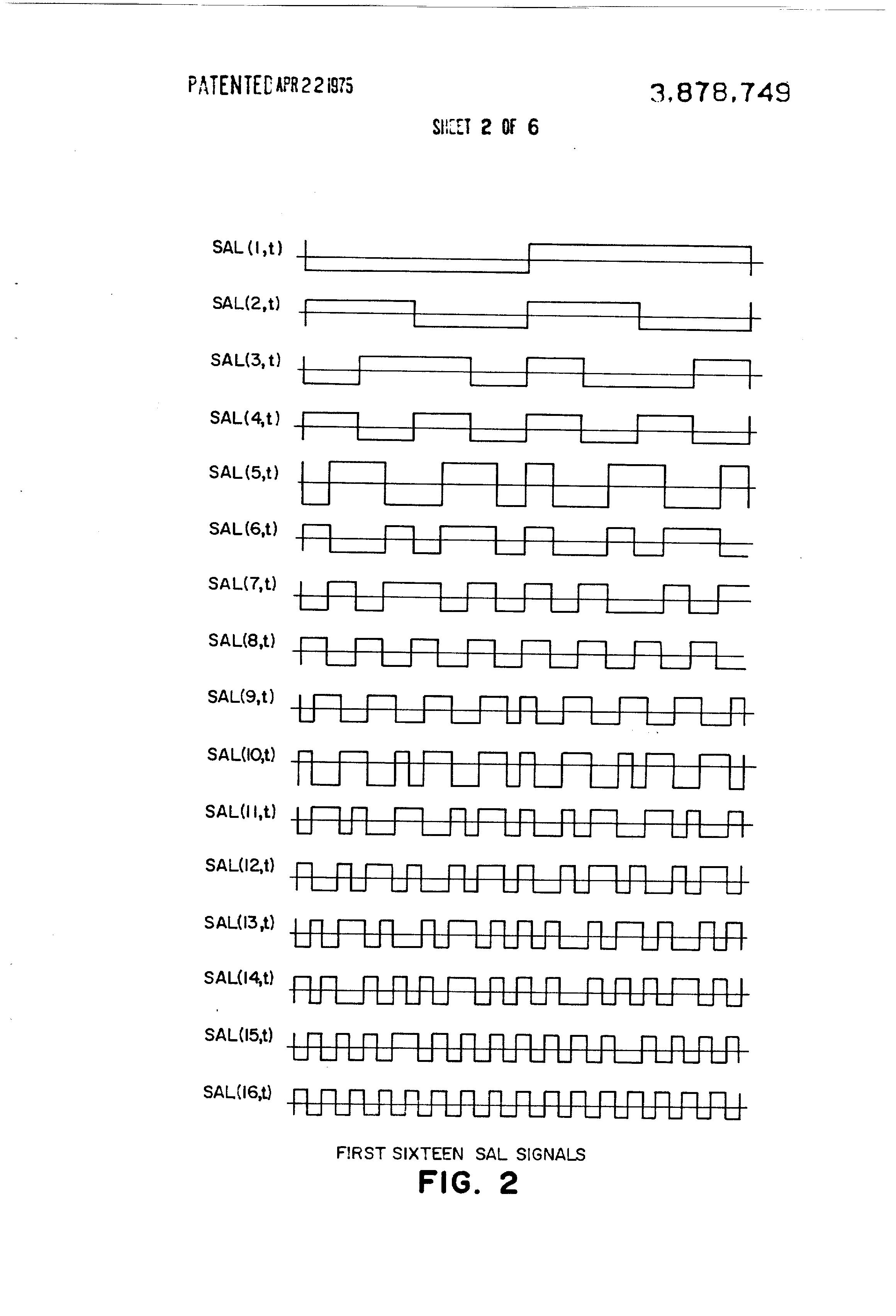 patent us3878749