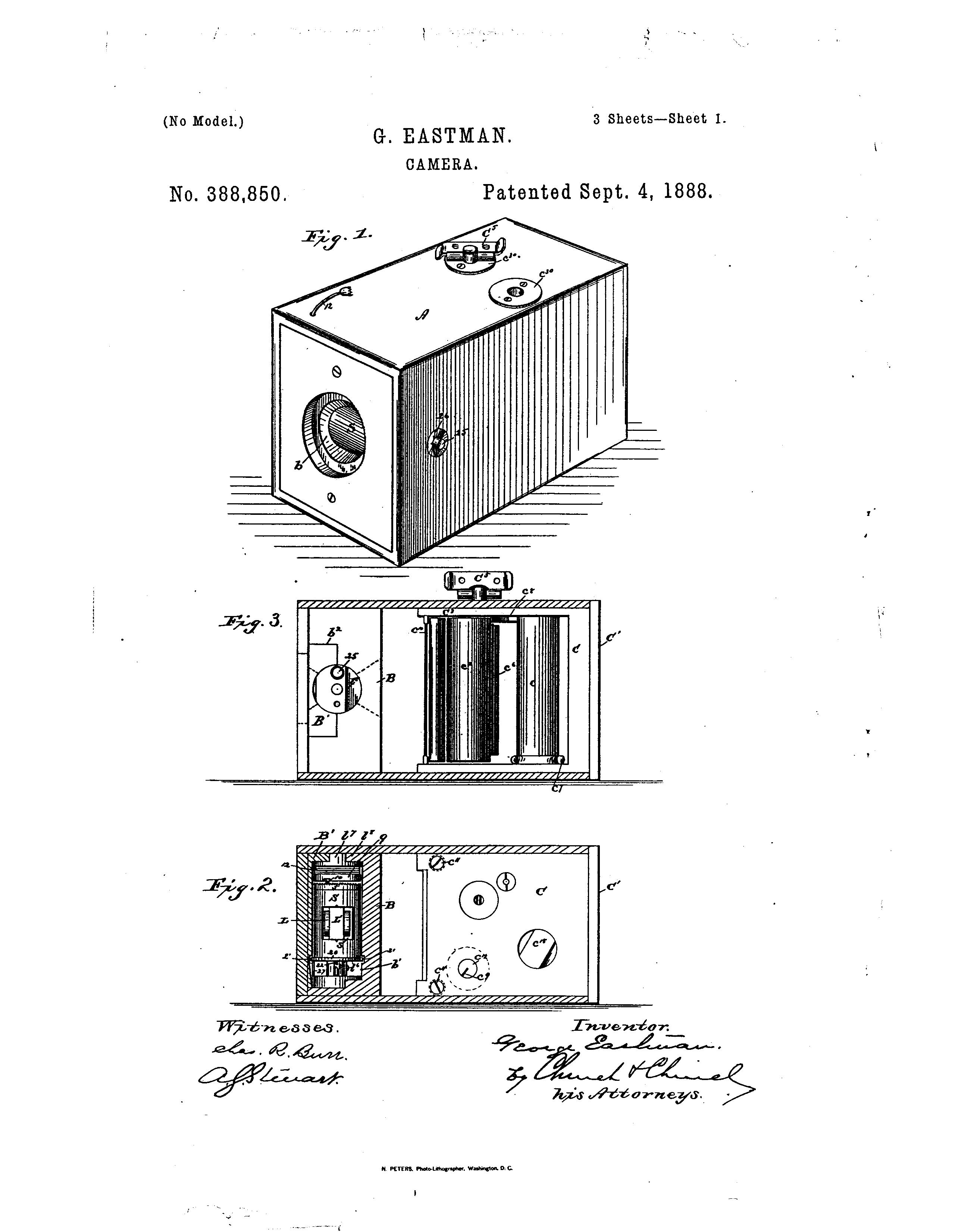Patent Us388850 Camera Google Patents