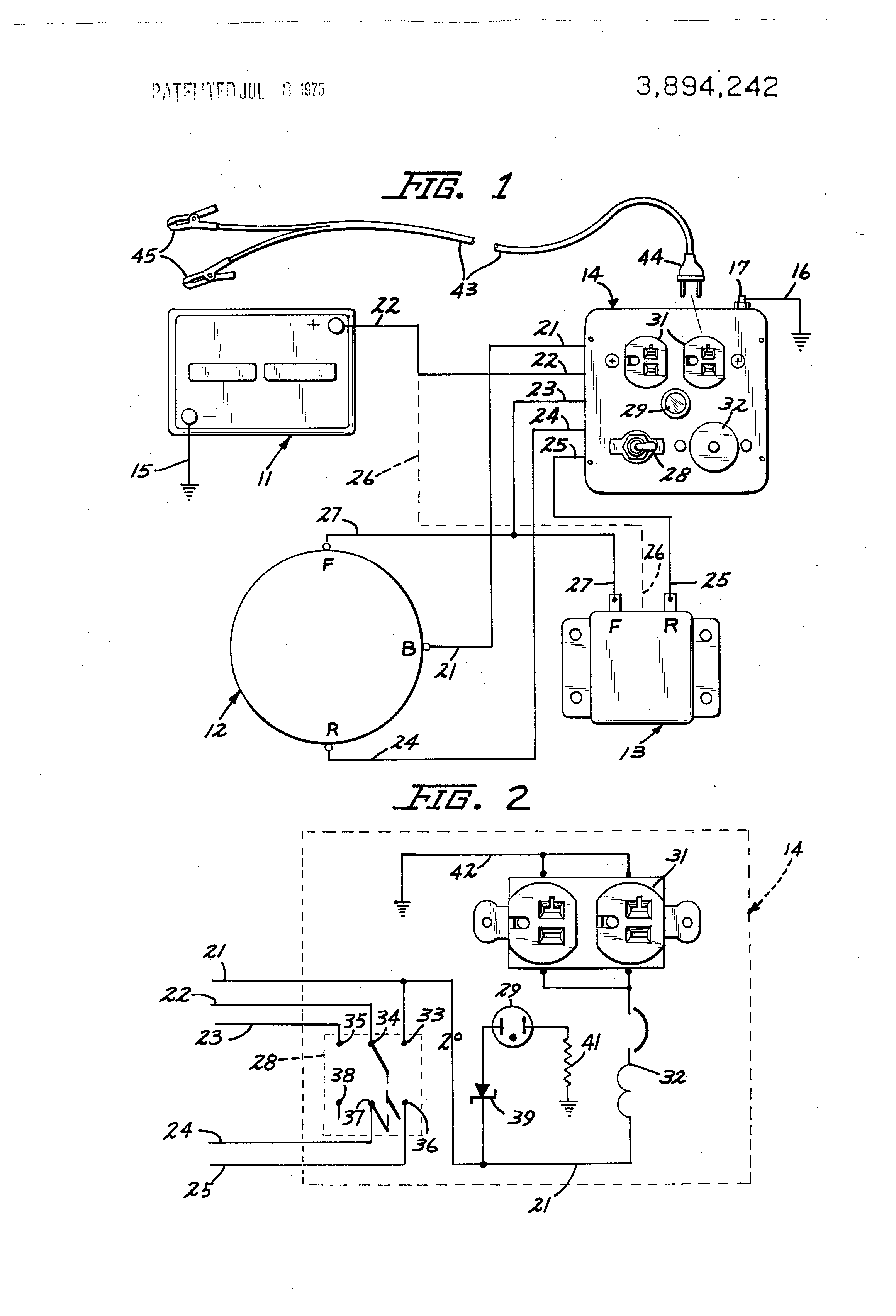 Patent Us3894242 Electrical Power Converting Apparatus Google Led Light Bulb Patente On Wire Battery Circuit Drawing