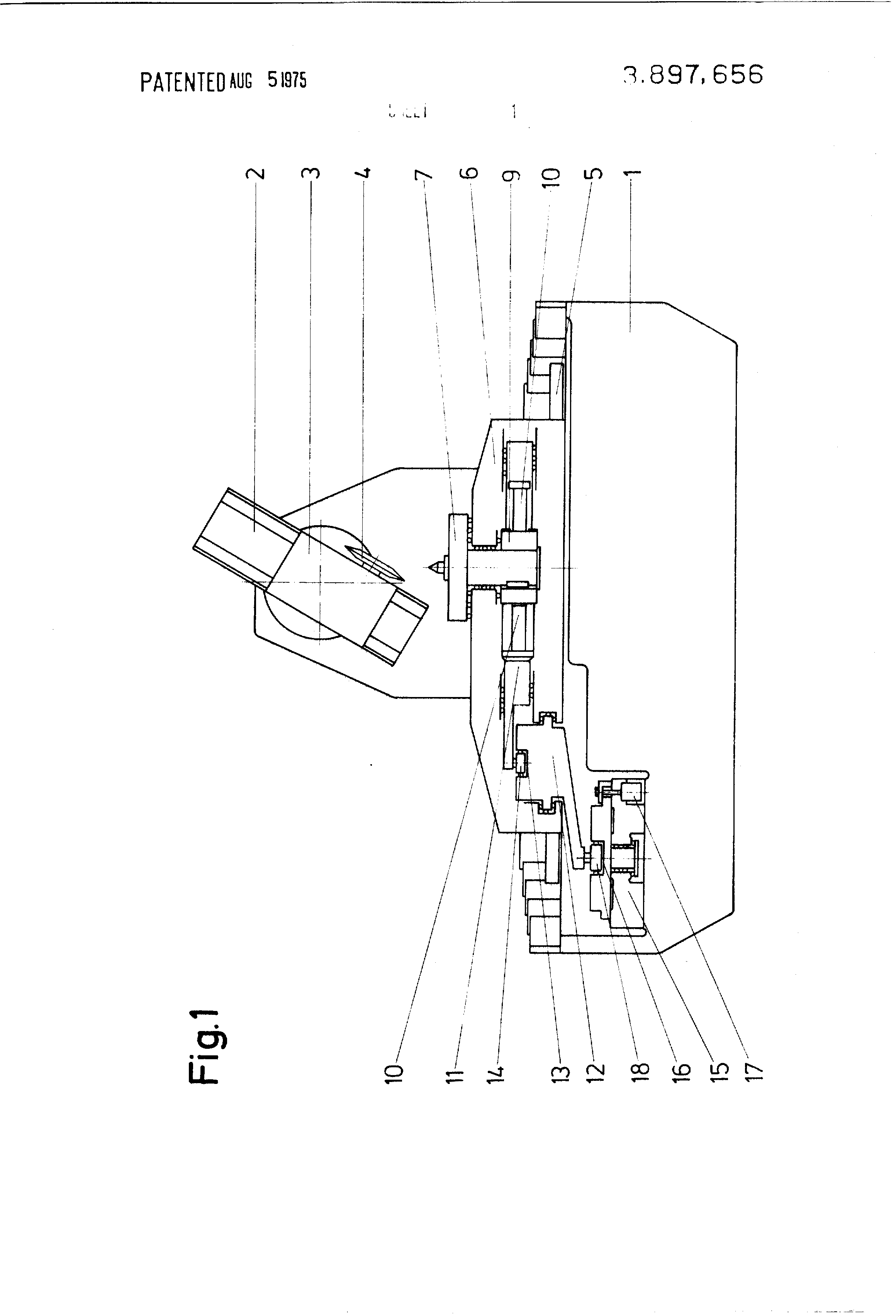 Patent Us3897656 Machine For Manufacturing Or Testing