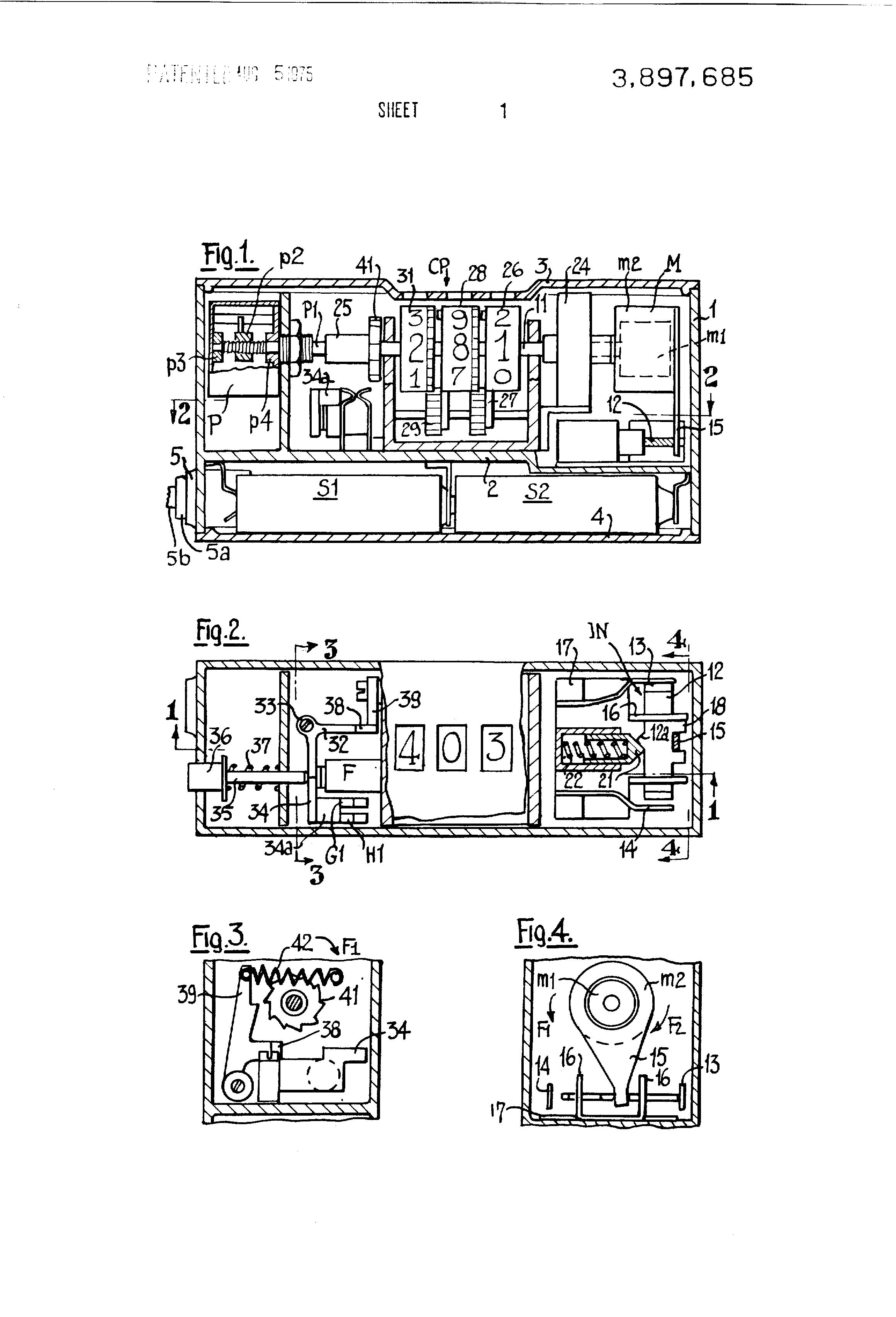 Patent Us3897685 Medical Thermometer Google Patents Figure 1 Digital Circuit Diagram Drawing