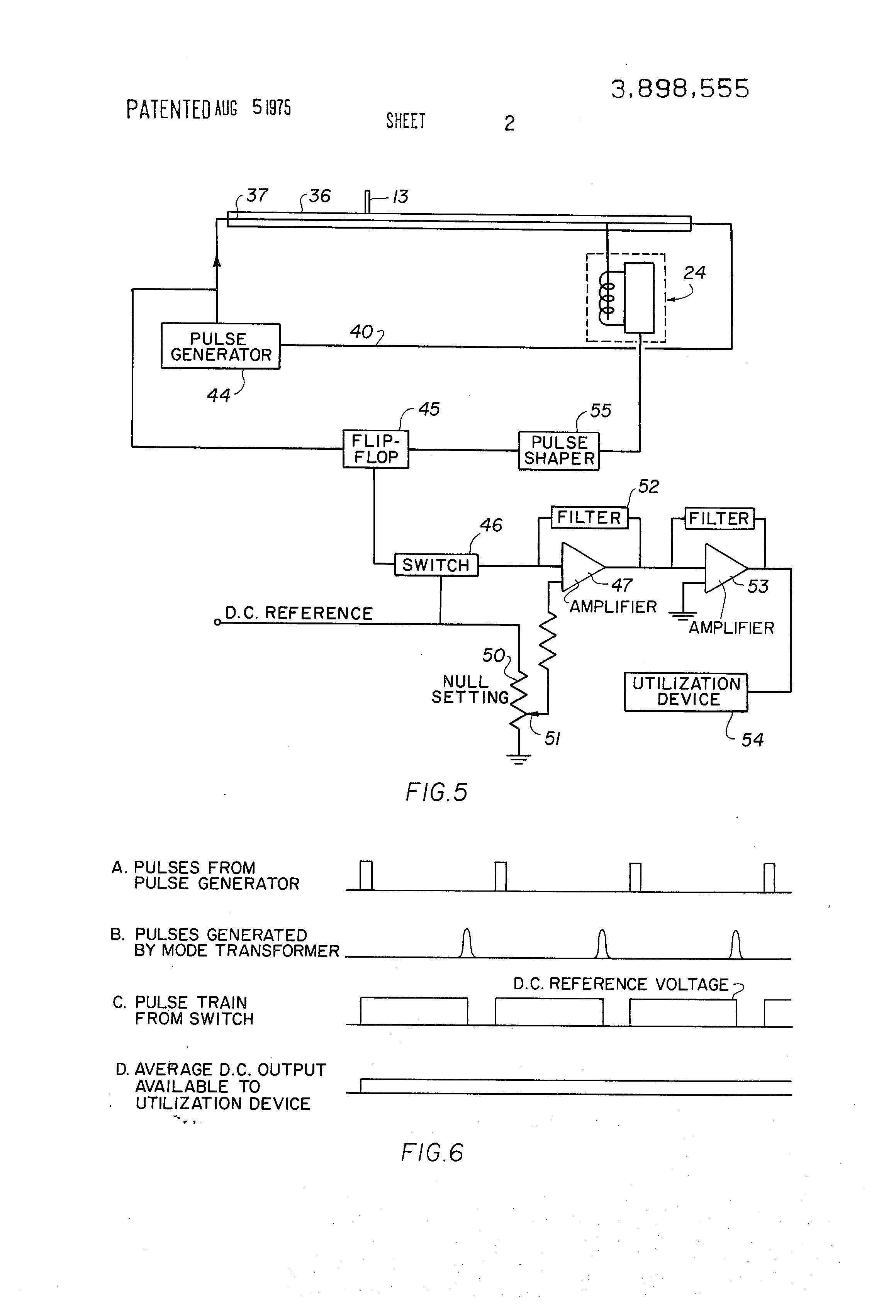 Temposonic position transducer