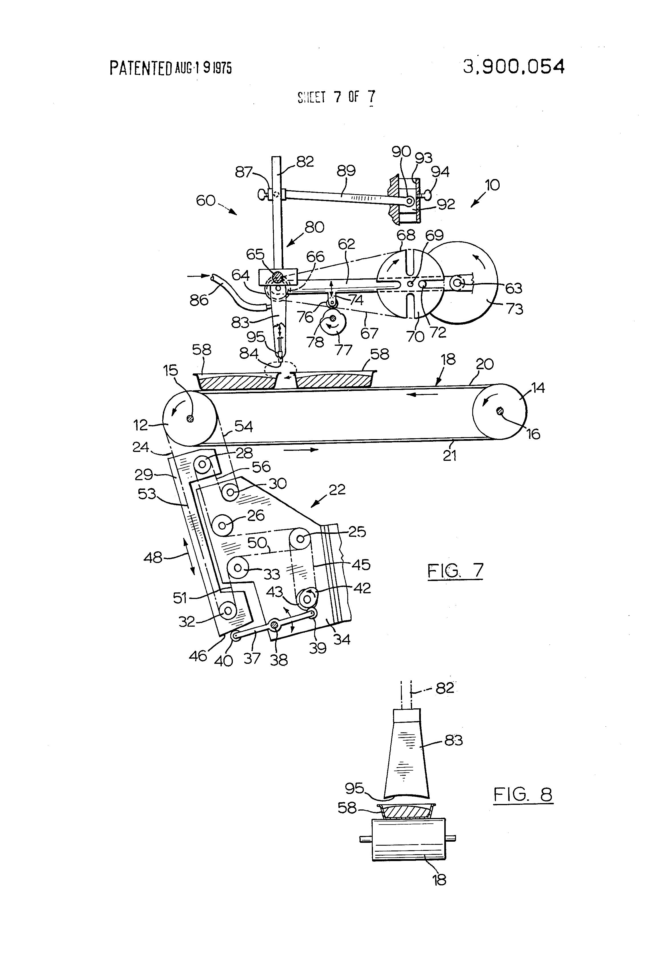 automatic cake icing machine