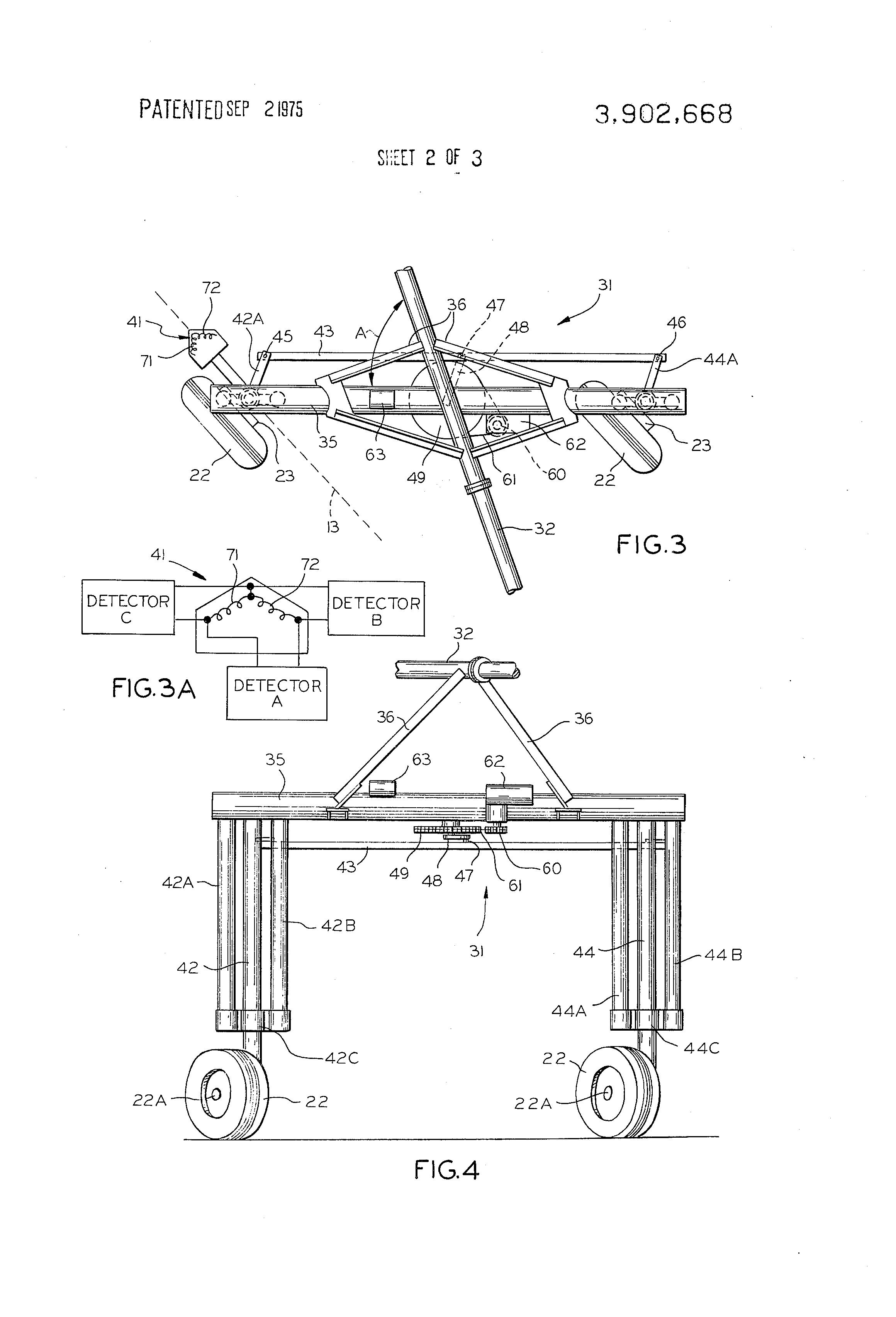 patent us3902668 center pivot irrigation system patents