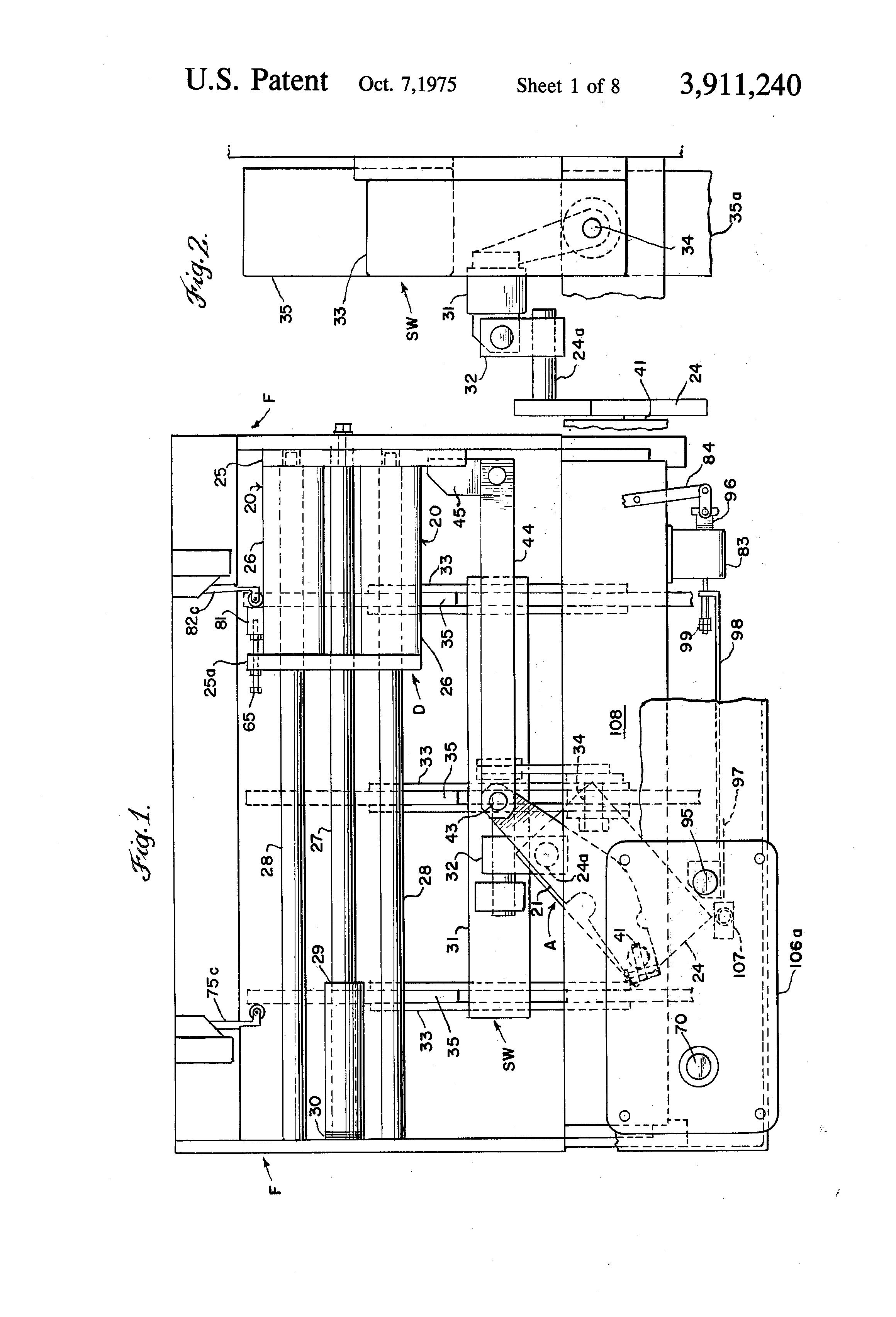 Patent Us3911240 - Dual Spring Load Break Switch