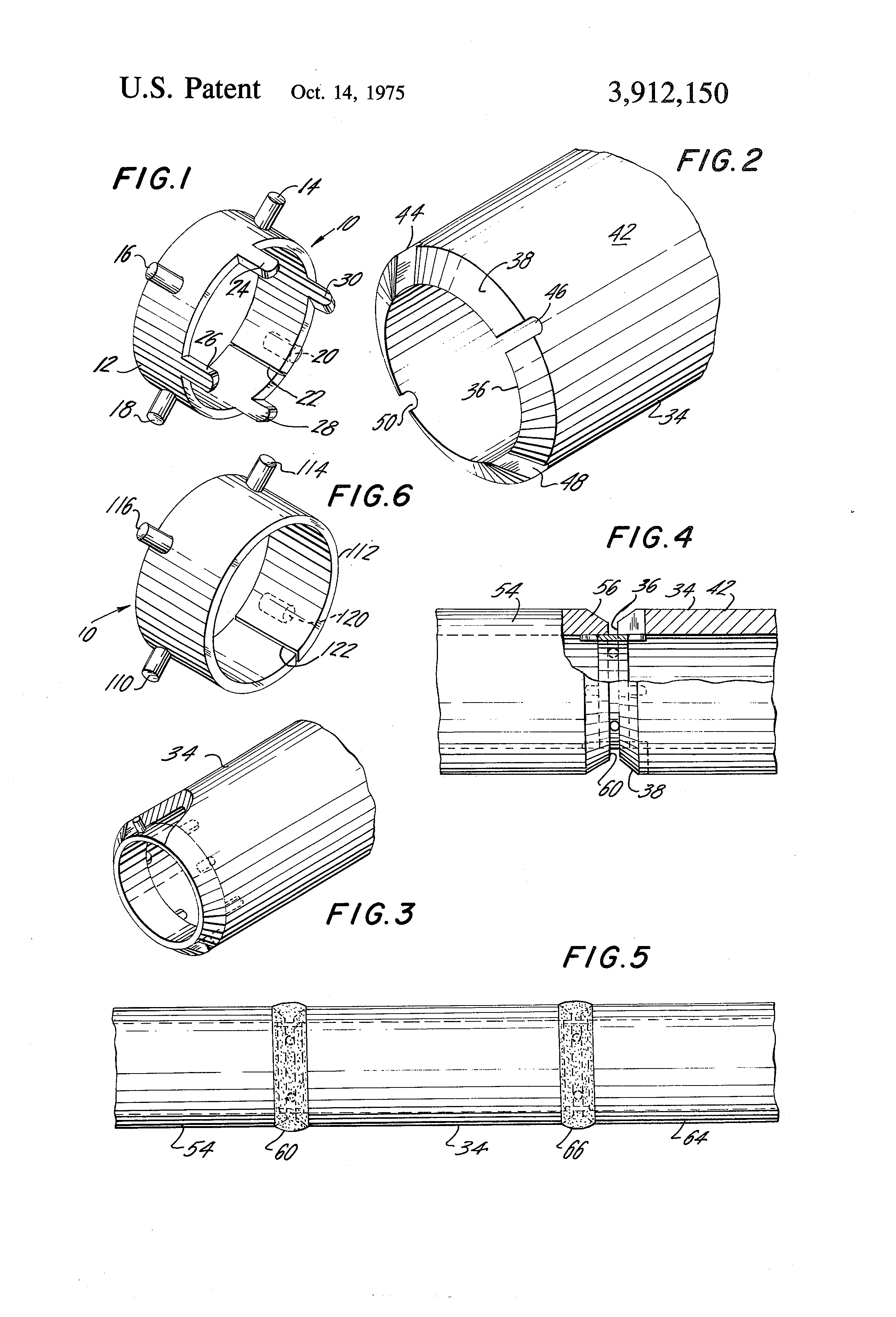 Patent us backing rings for welded pipe joints