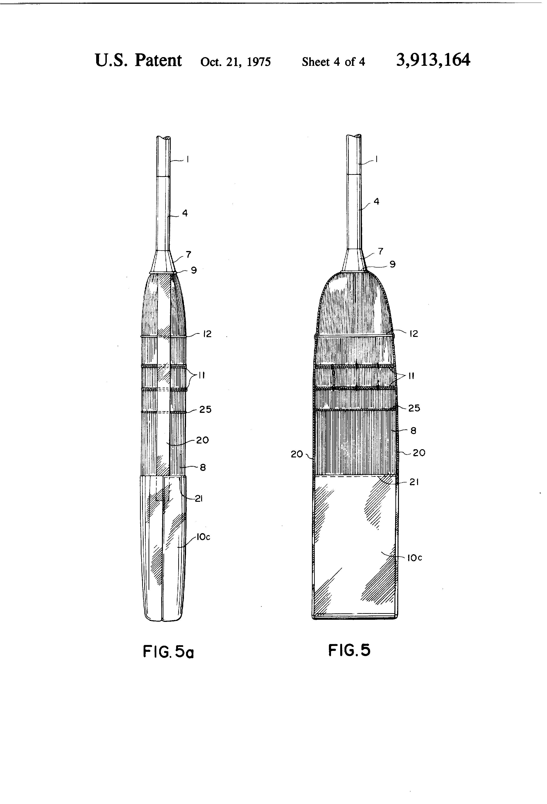 Patent Us3913164 Curling Broom Google Patents
