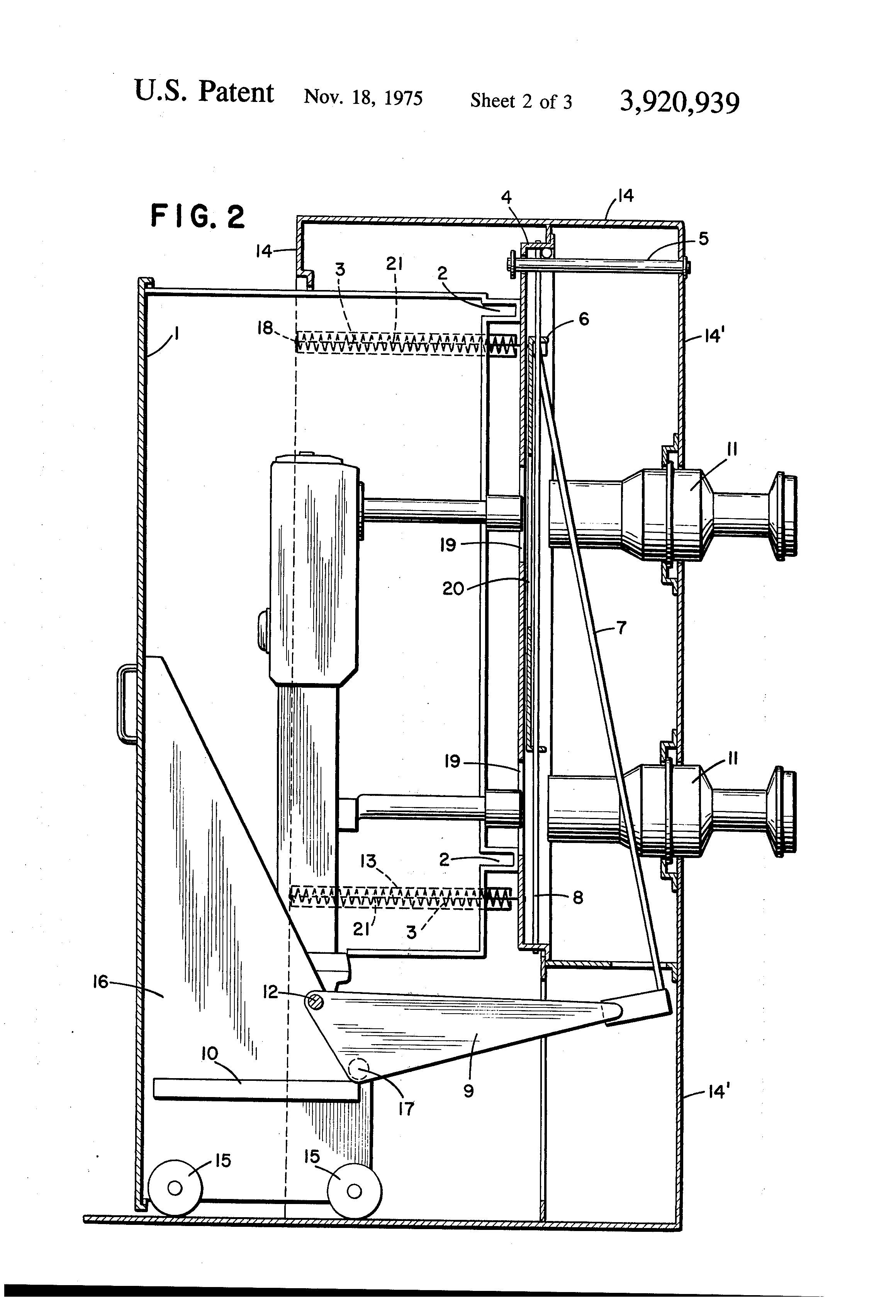 patent us3920939