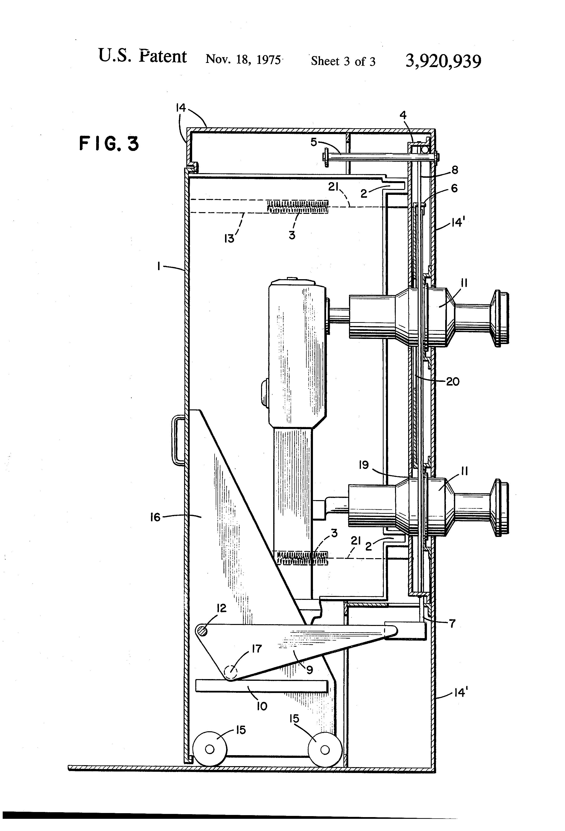 patent us3920939 - circuit breaker protective shutter apparatus