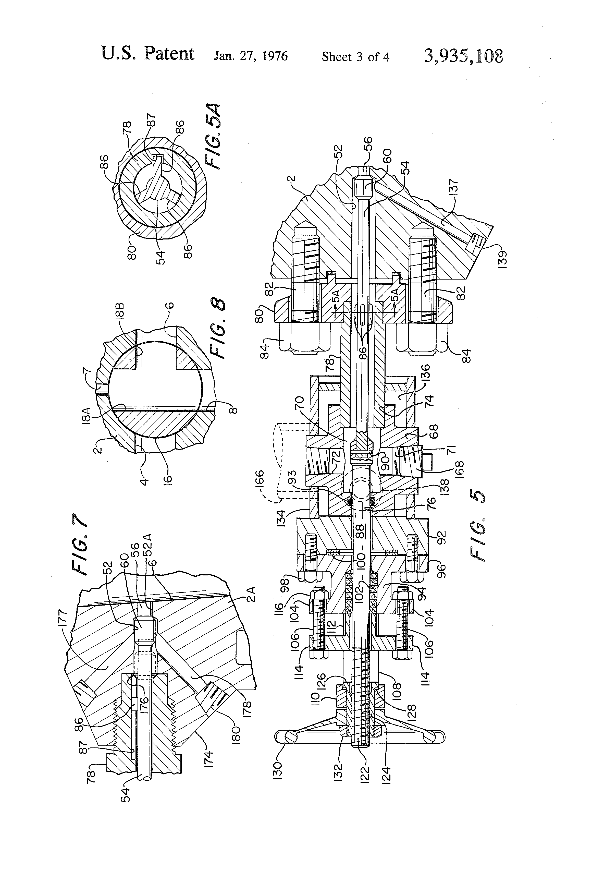 patent us3935108 changeover valves with bypass and bent valving