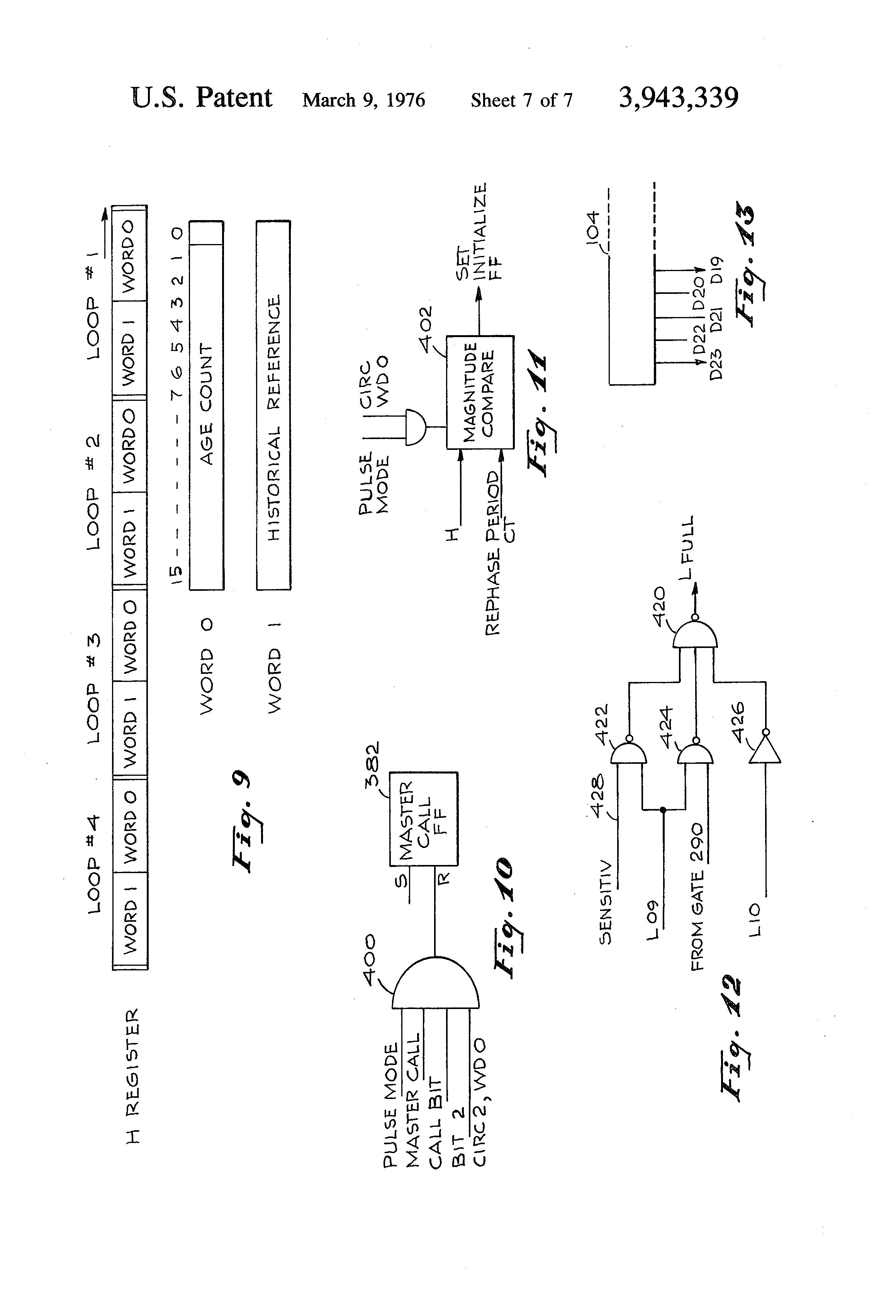 Roadway Detector Circuit Smart Wiring Diagrams Short Patent Us3943339 Inductive Loop System Google Breaker