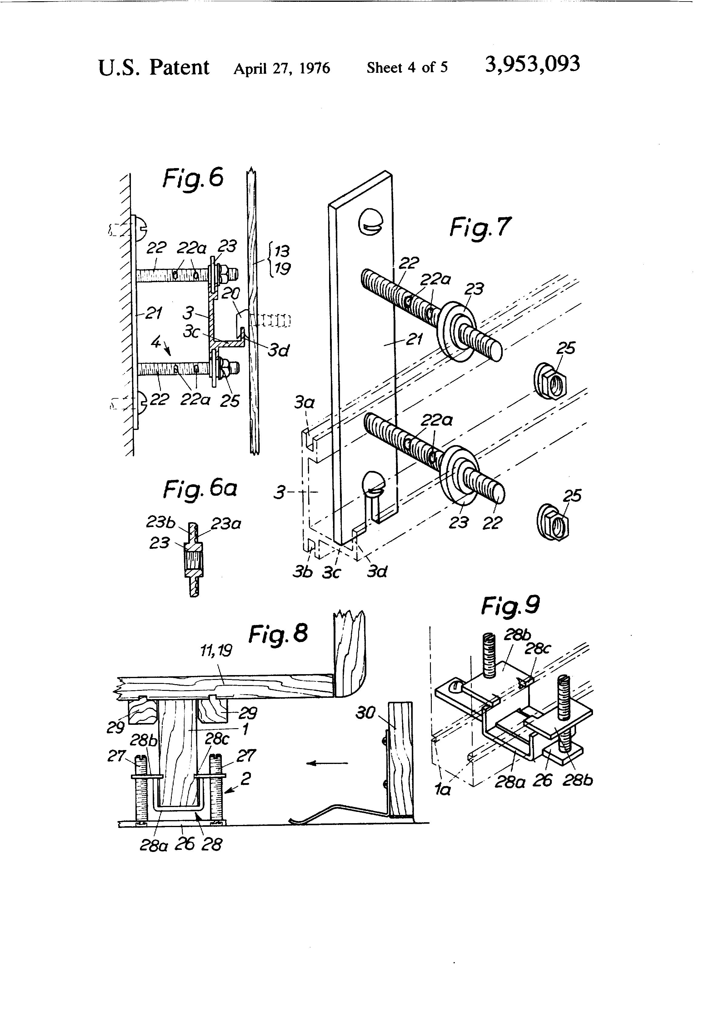 patent us3953093