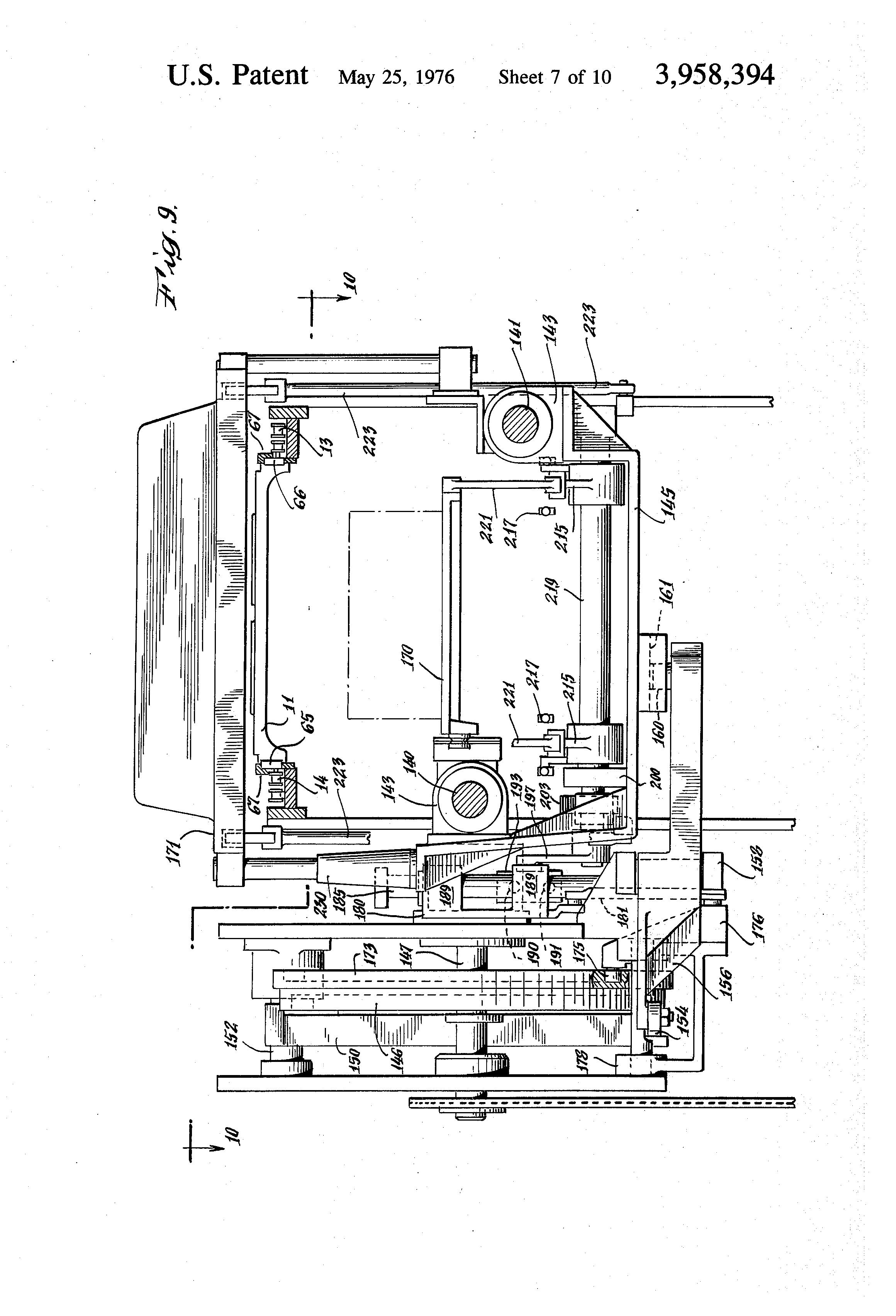 continuous movement machine