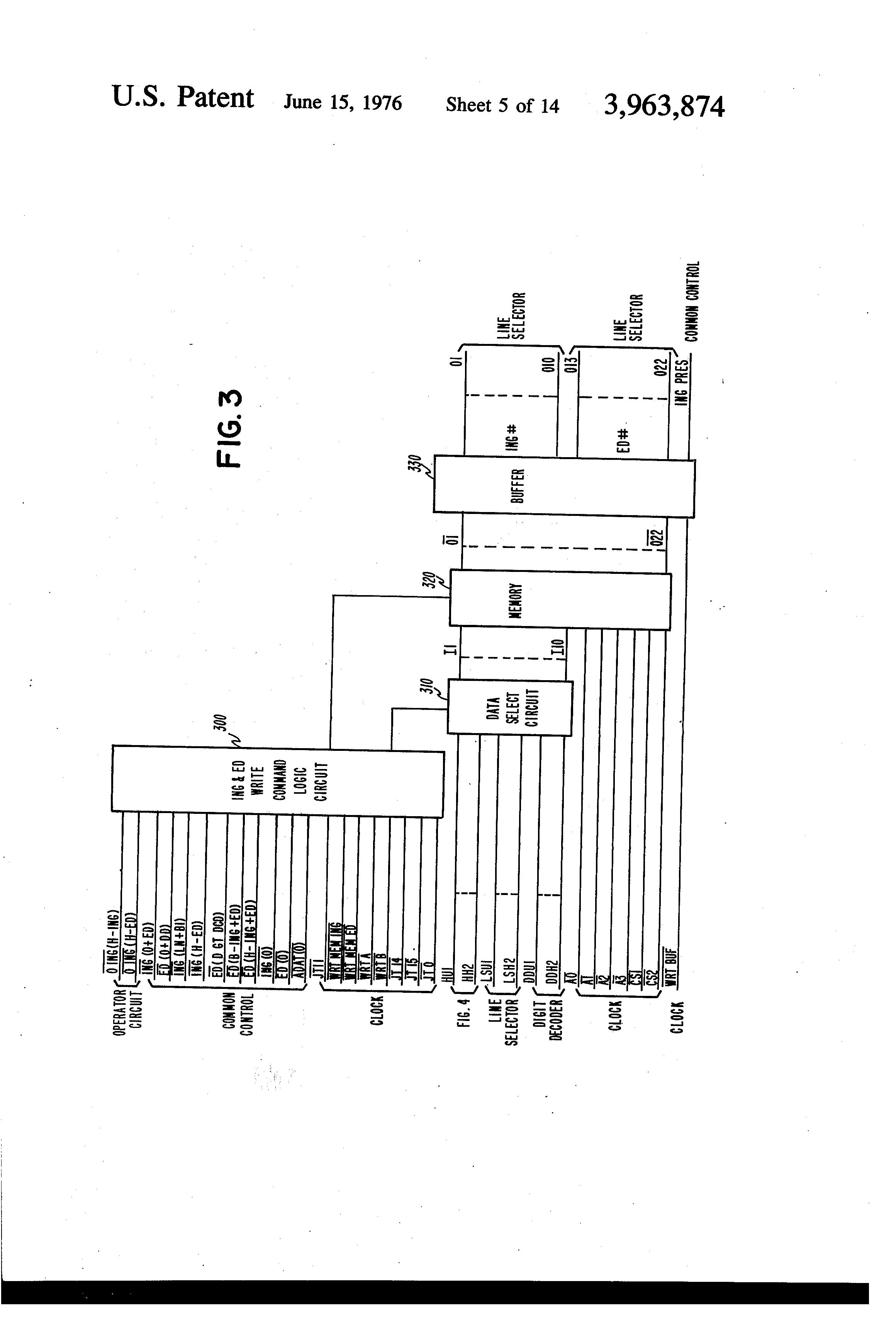 patent us3963874