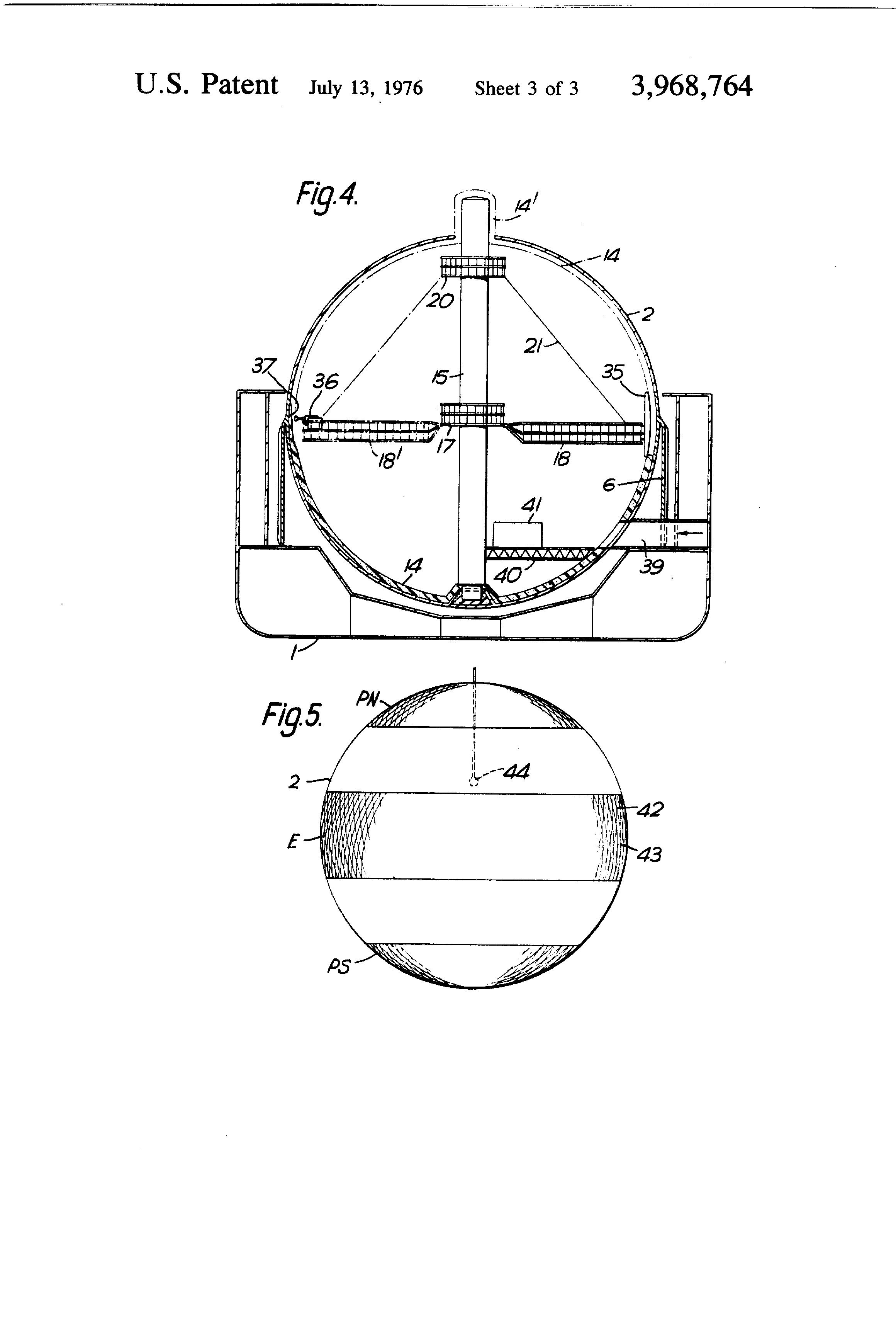 patent us3968764