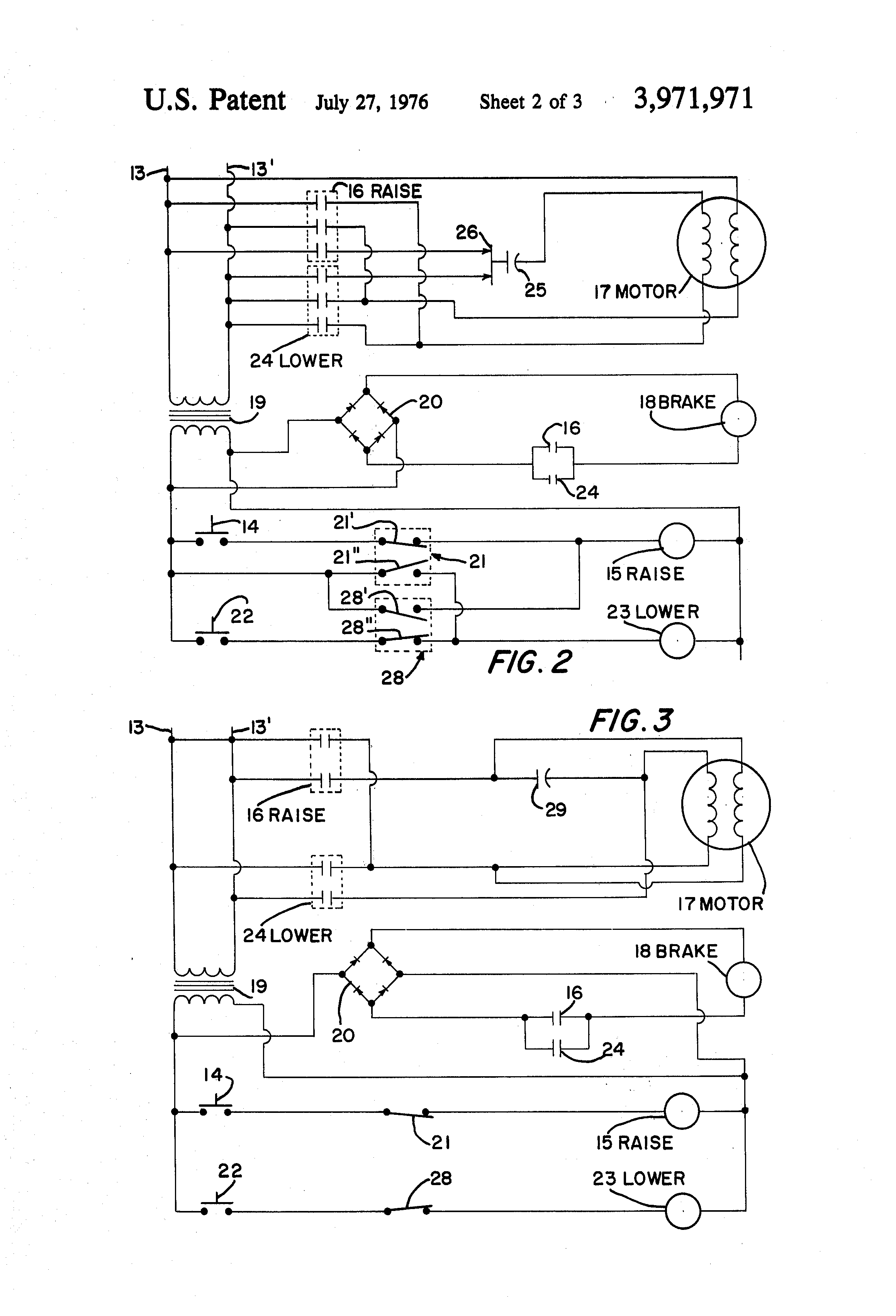 US3971971 2 patent us3971971 electric hoist control and braking system hoist wiring diagram at cos-gaming.co
