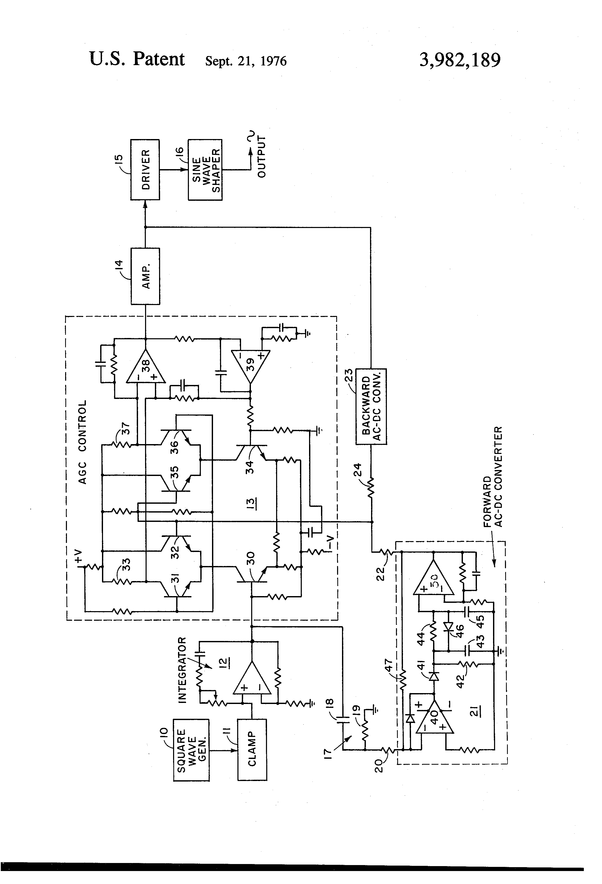 patent us3982189