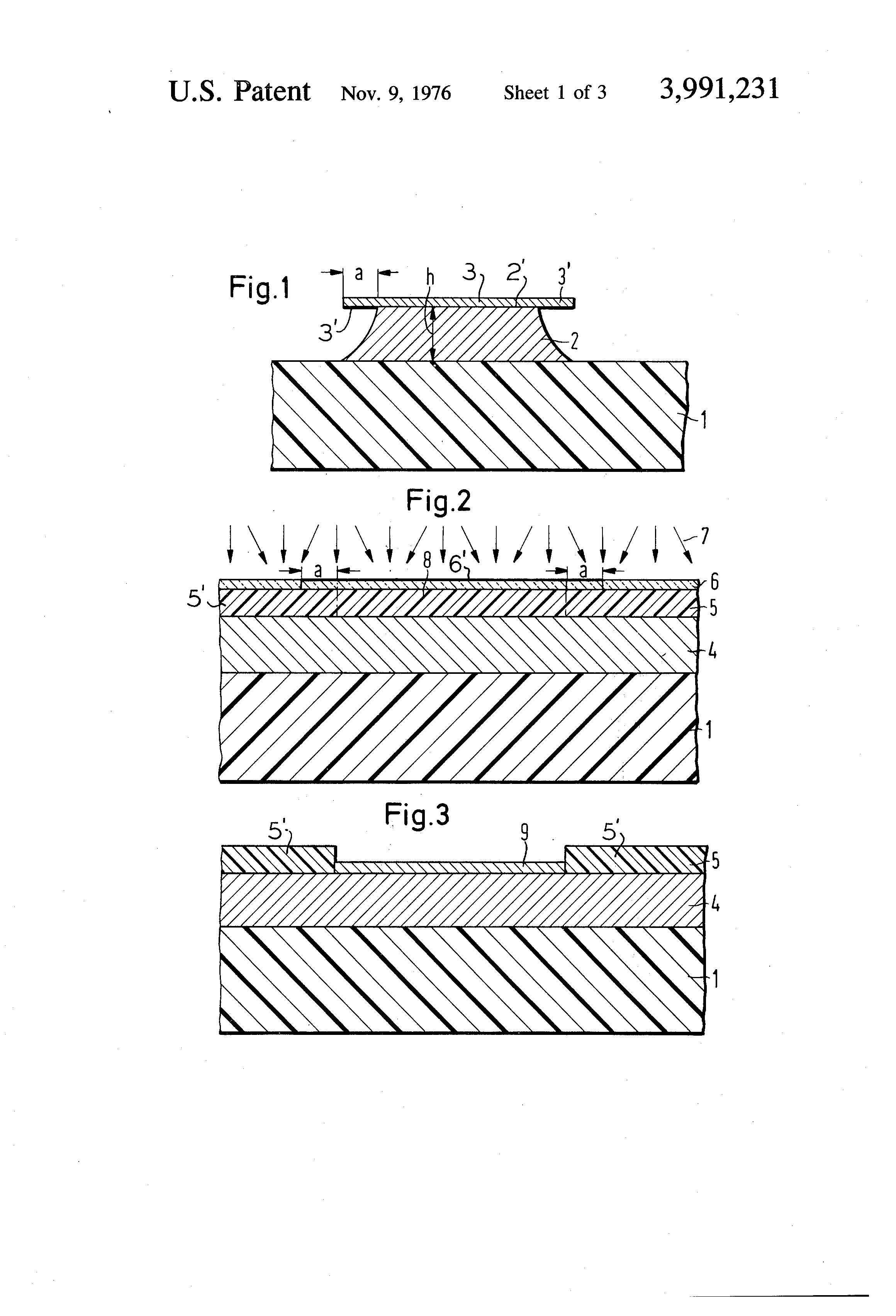 Patent Us3991231 Process For The Production Of Circuit Boards By A Board After Etching Drawing
