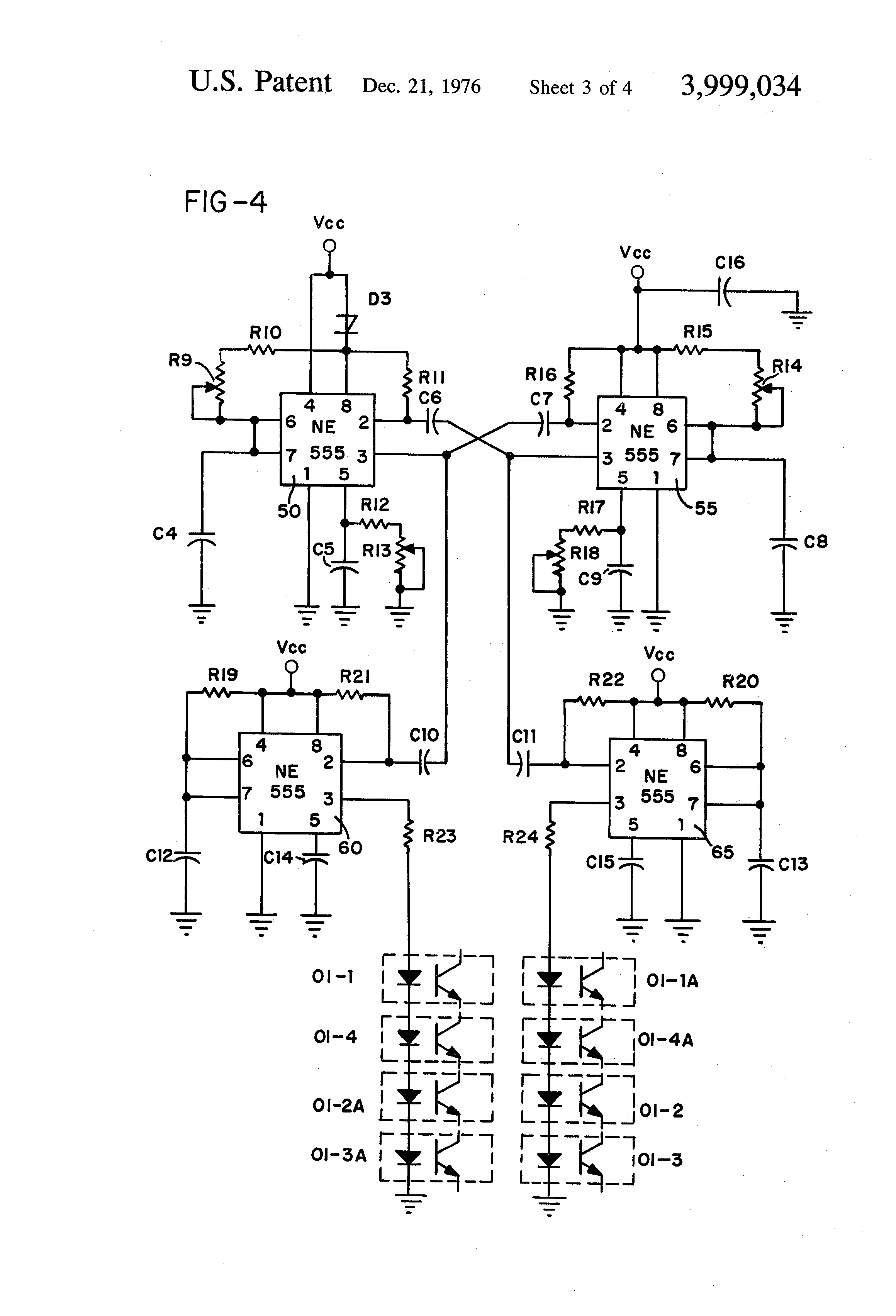 Patent Us3999034 Square Wave Welding System Google Patents Alternating Pulse Generator Drawing