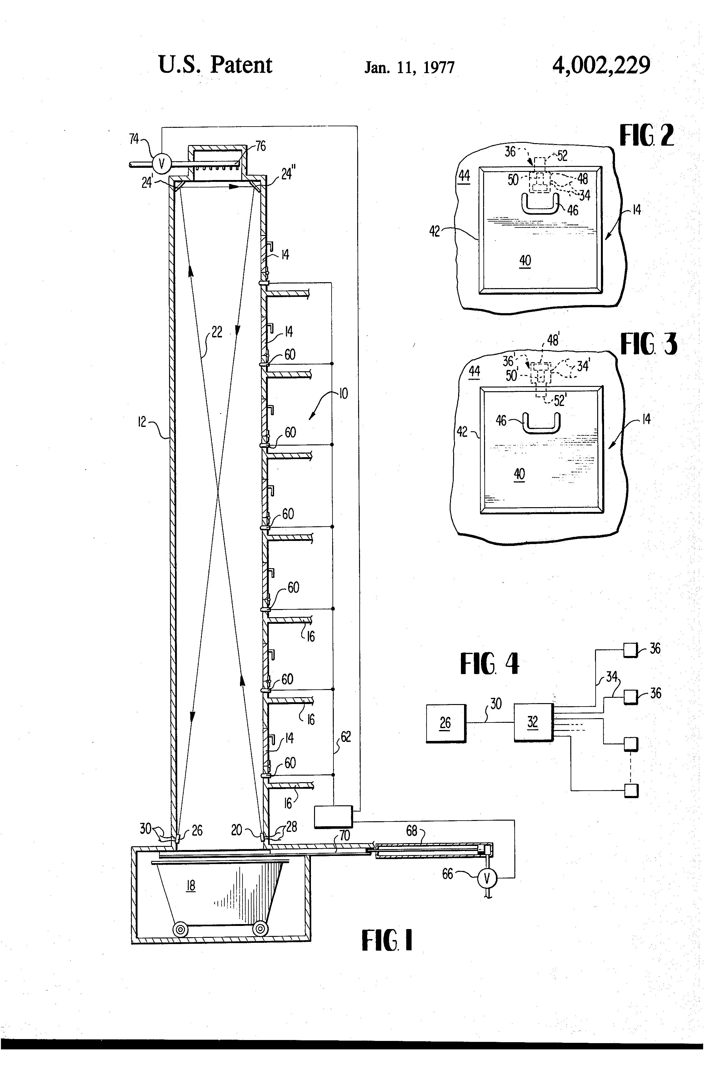 Trash Chute Details : Patent us trash chute locking system google patents