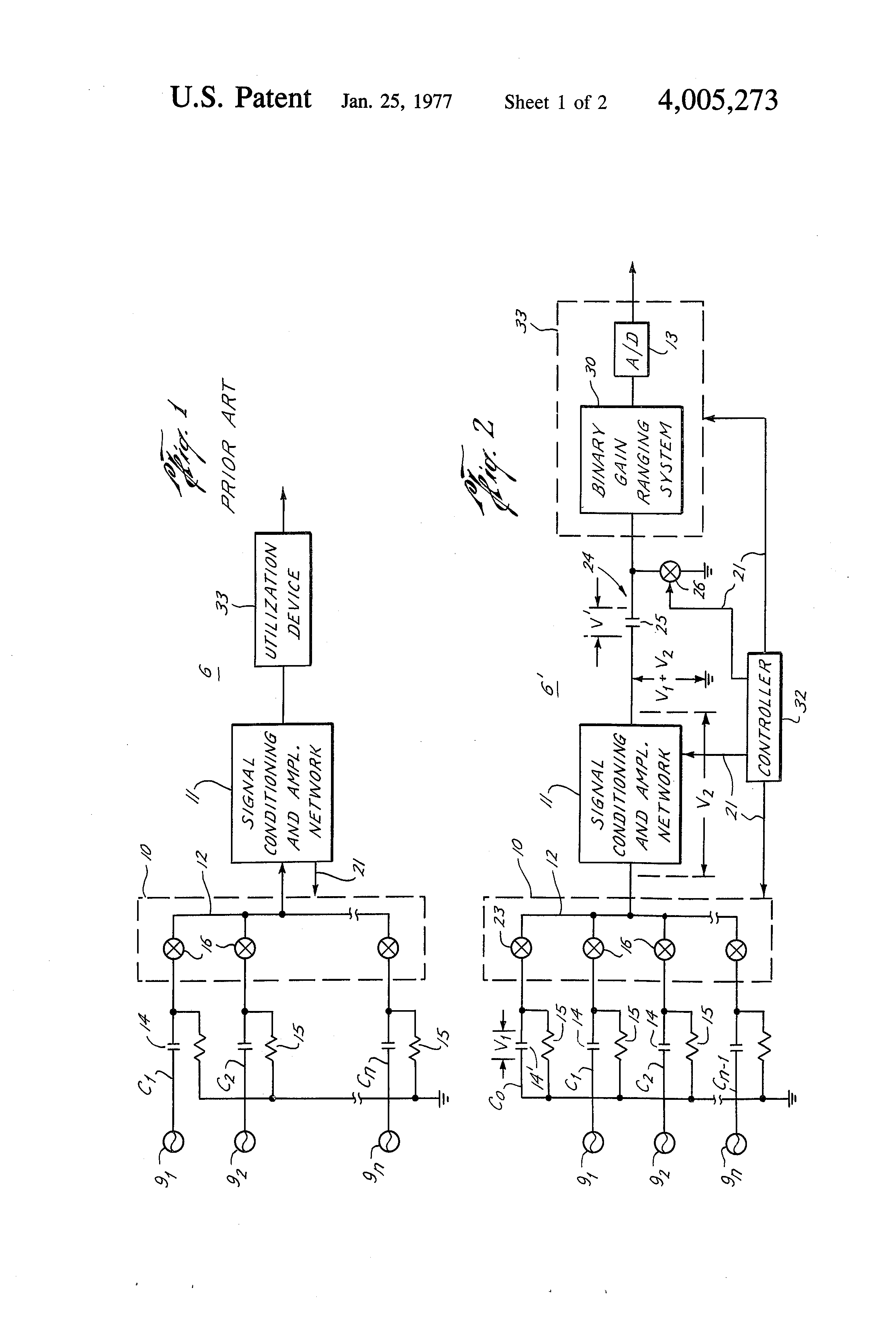 Patent Us4005273 Multiplexer Offset Removal Circuit Google Patents General Block Diagram Of Drawing