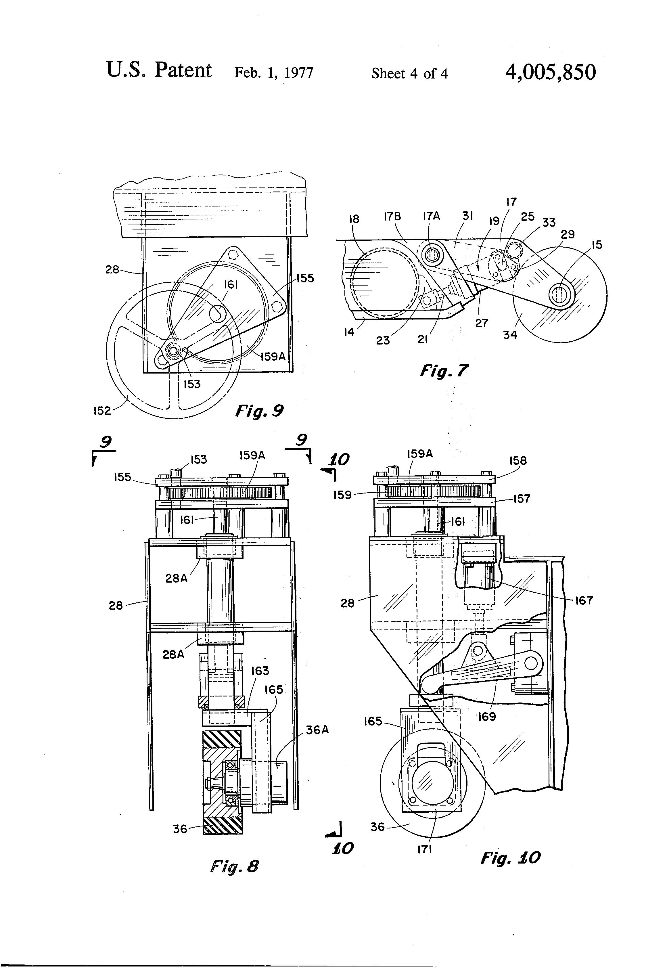 Patent Us4005850 Floor Jack Google Patents